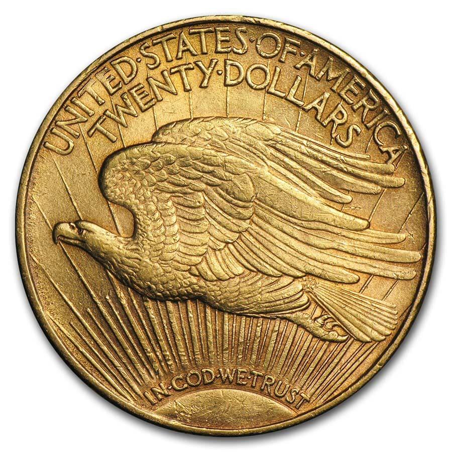 $20 Saint-Gaudens Gold Double Eagle XF