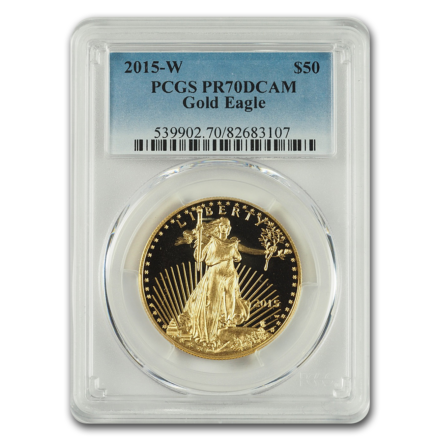 2015-W 1 oz Proof Gold American Eagle PR-70 PCGS