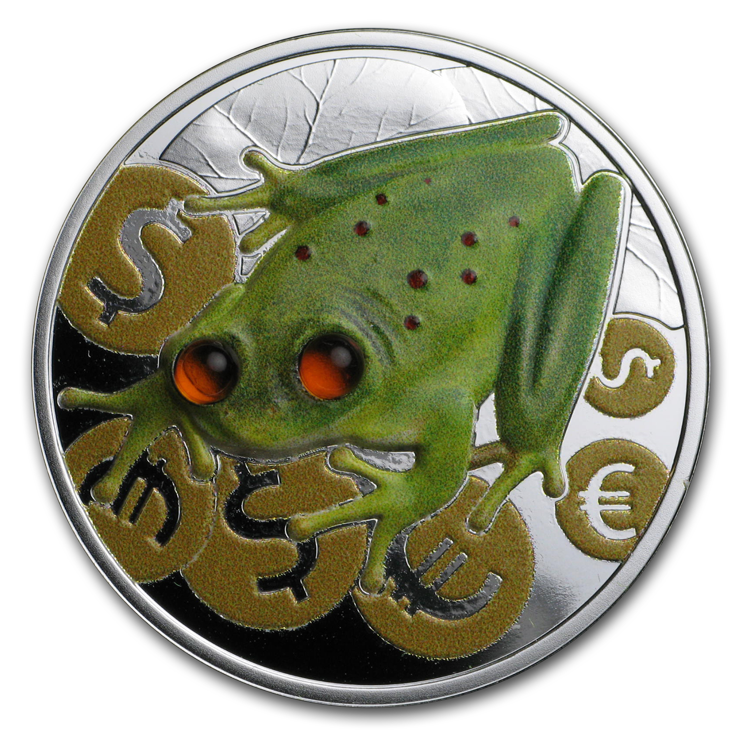 2017 Niue 1 oz Silver Money Frog Proof