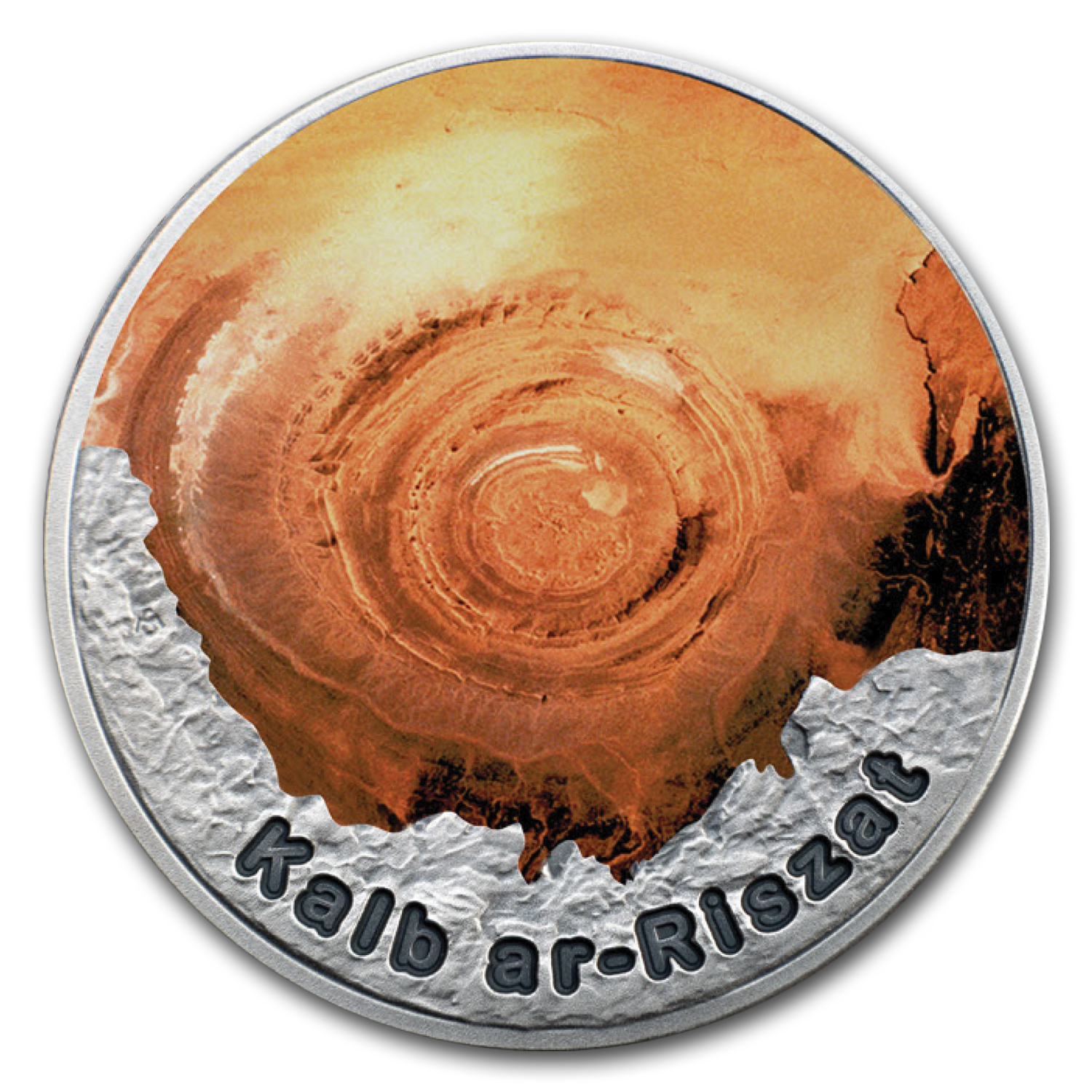 2016 Niue 1 oz Silver Eye of the Sahara In The Circle of Secrets