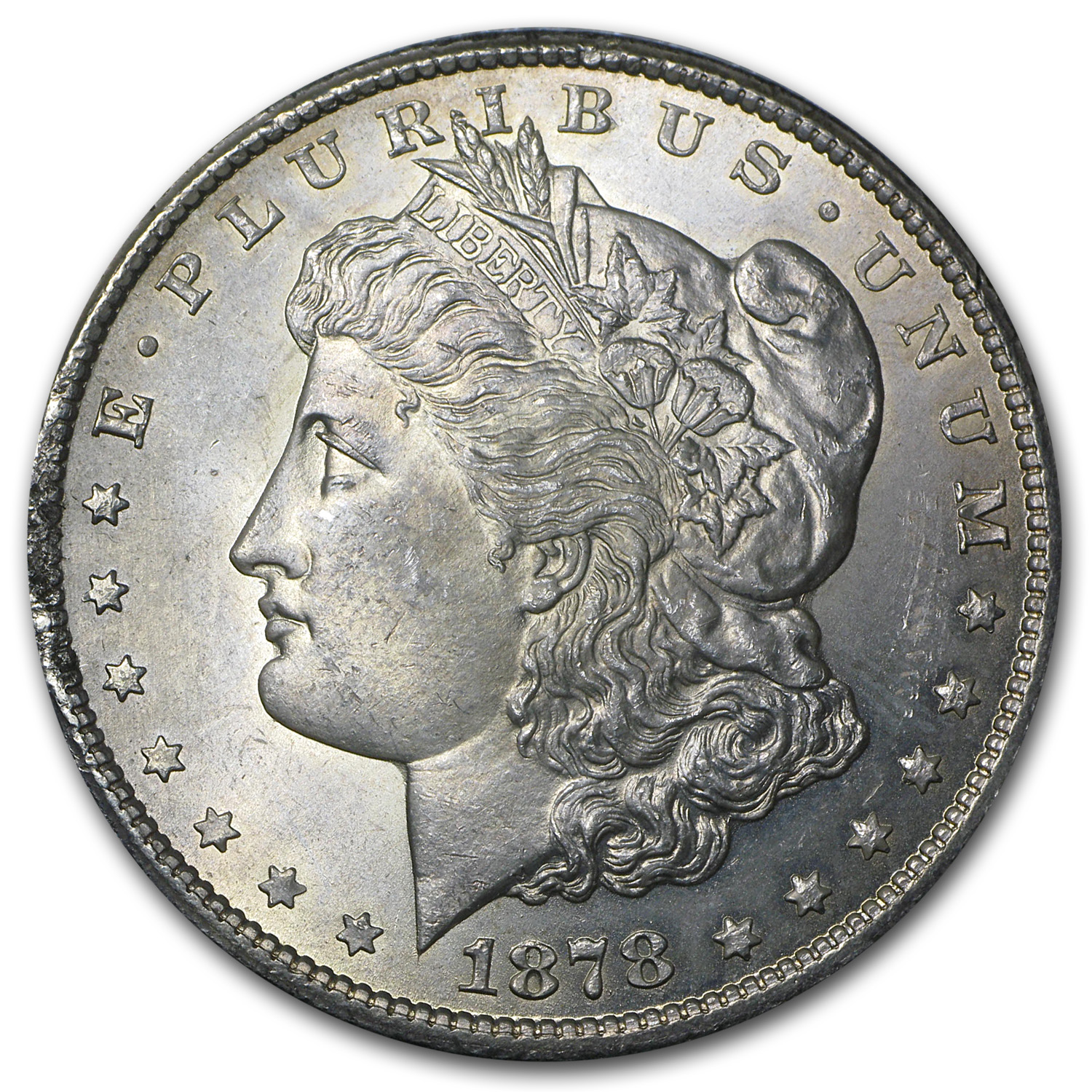 1878-CC Morgan Dollar BU