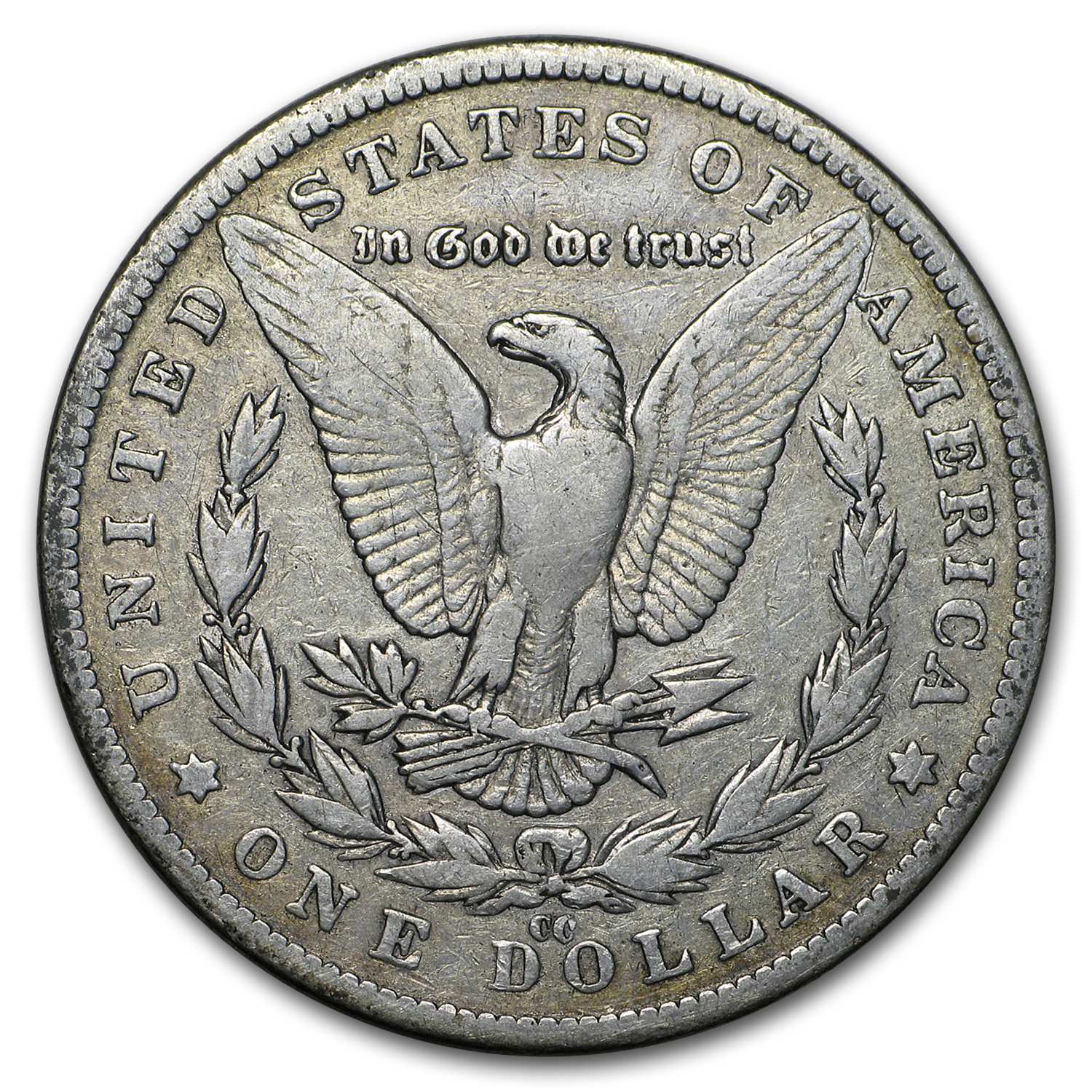 1882-CC Morgan Dollar VF