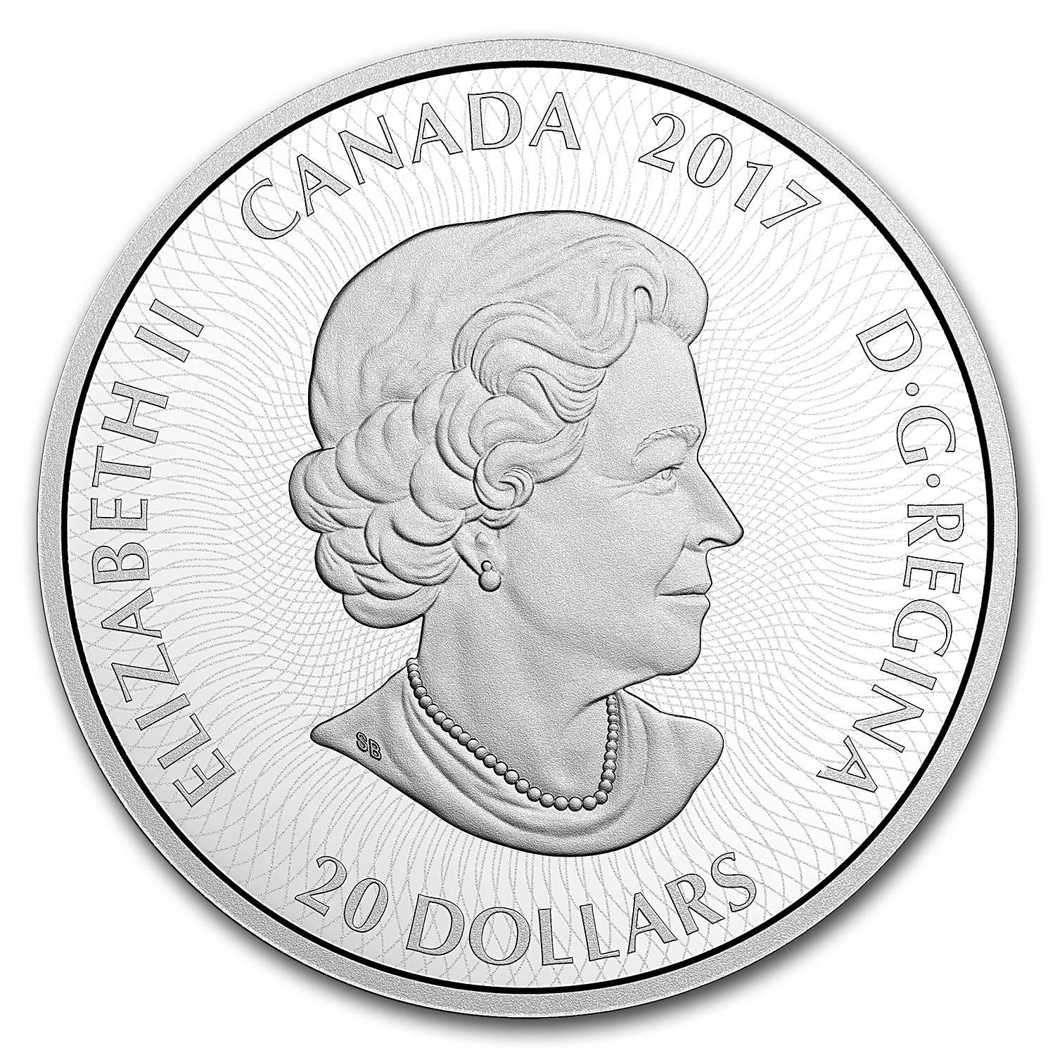 2017 Canada 1 oz Proof Silver $20 Kaleidoscope: The Loon