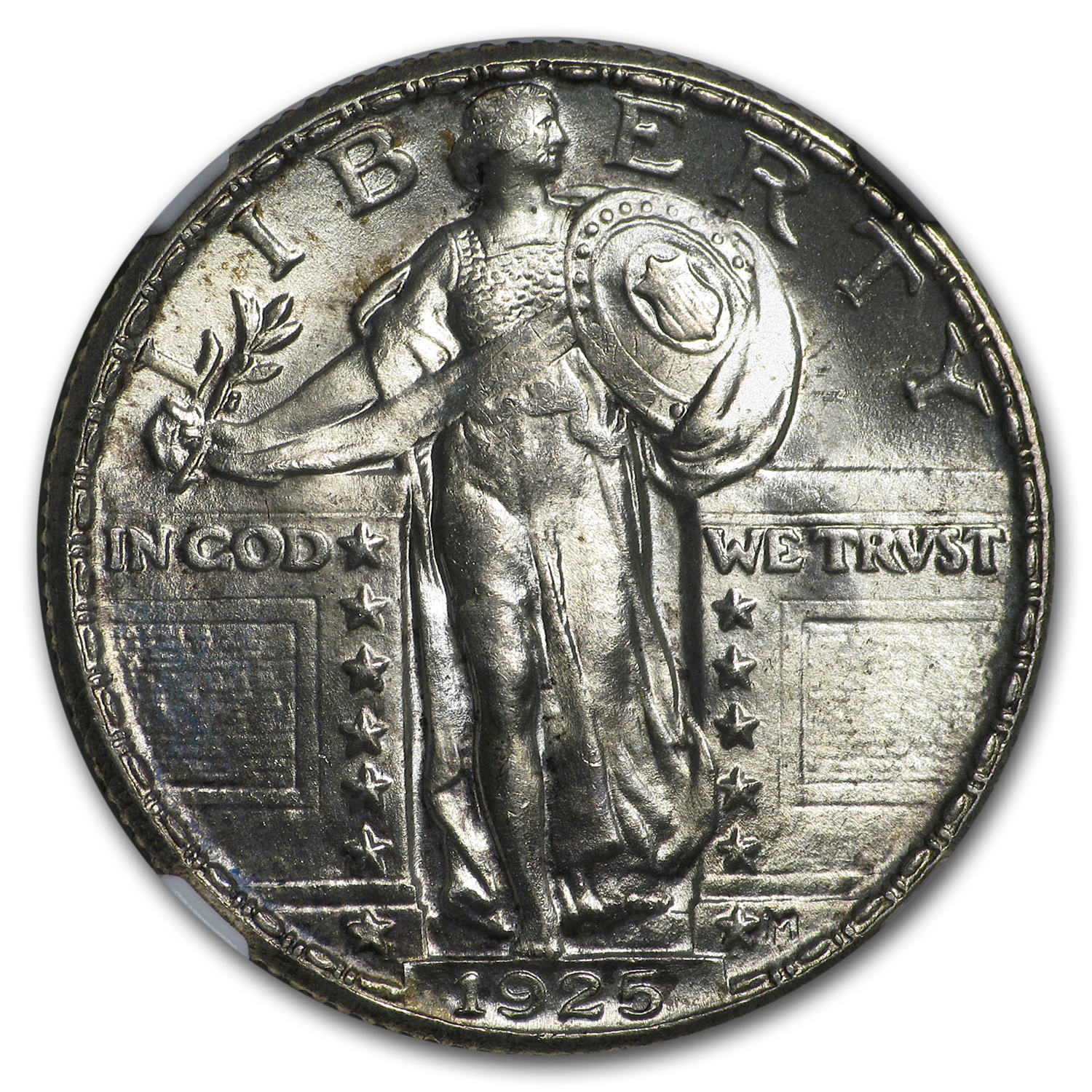 1925 Standing Liberty Quarter MS-65 NGC