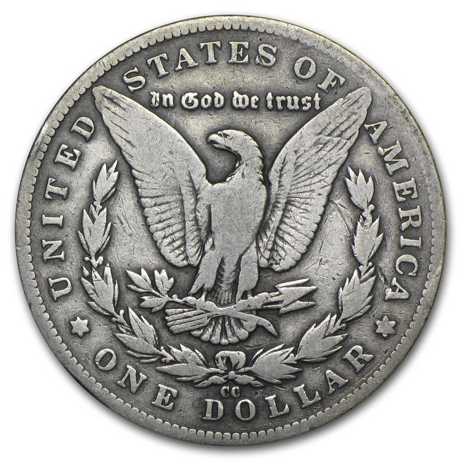1889-CC Morgan Dollar - Fine