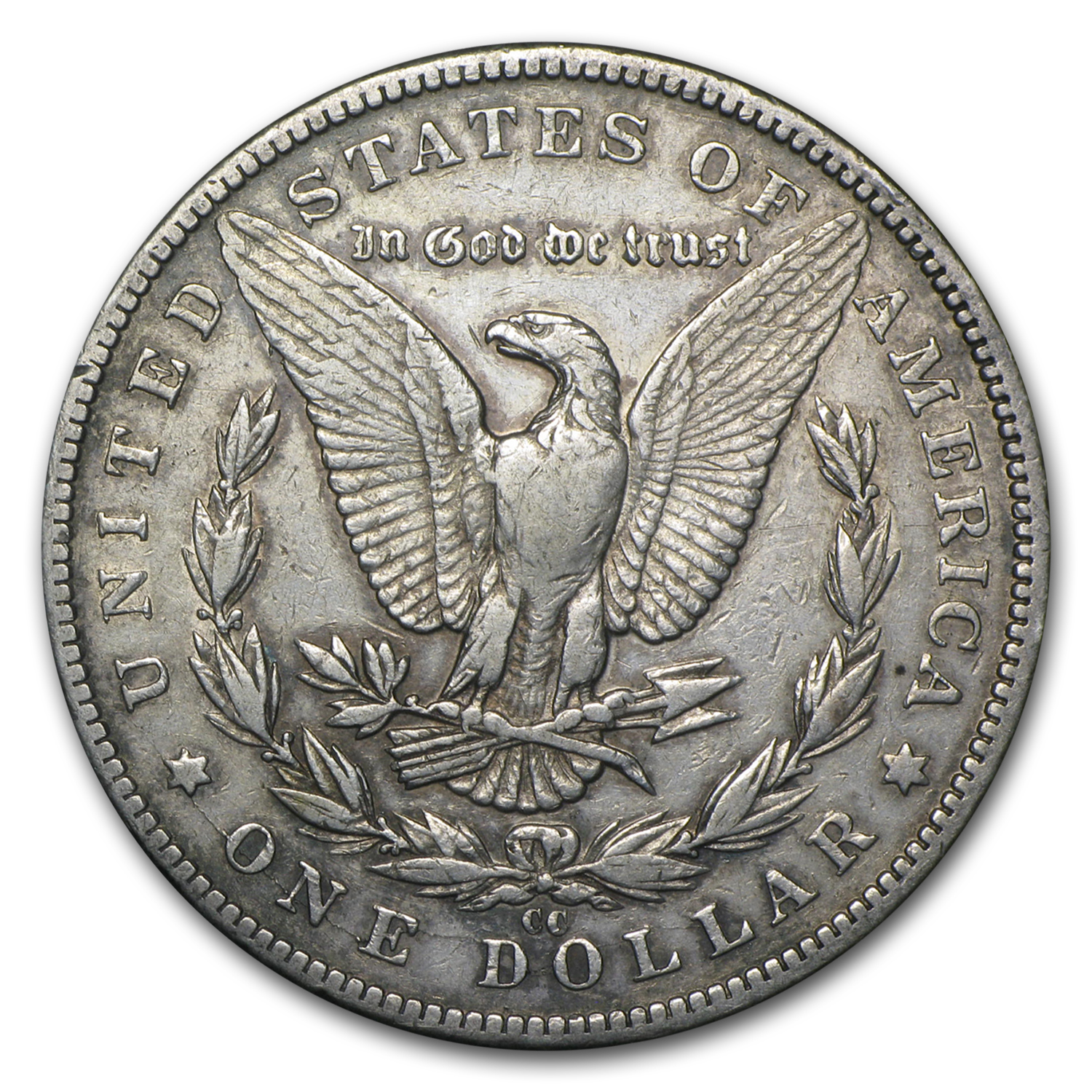 1889-CC Morgan Dollar VF