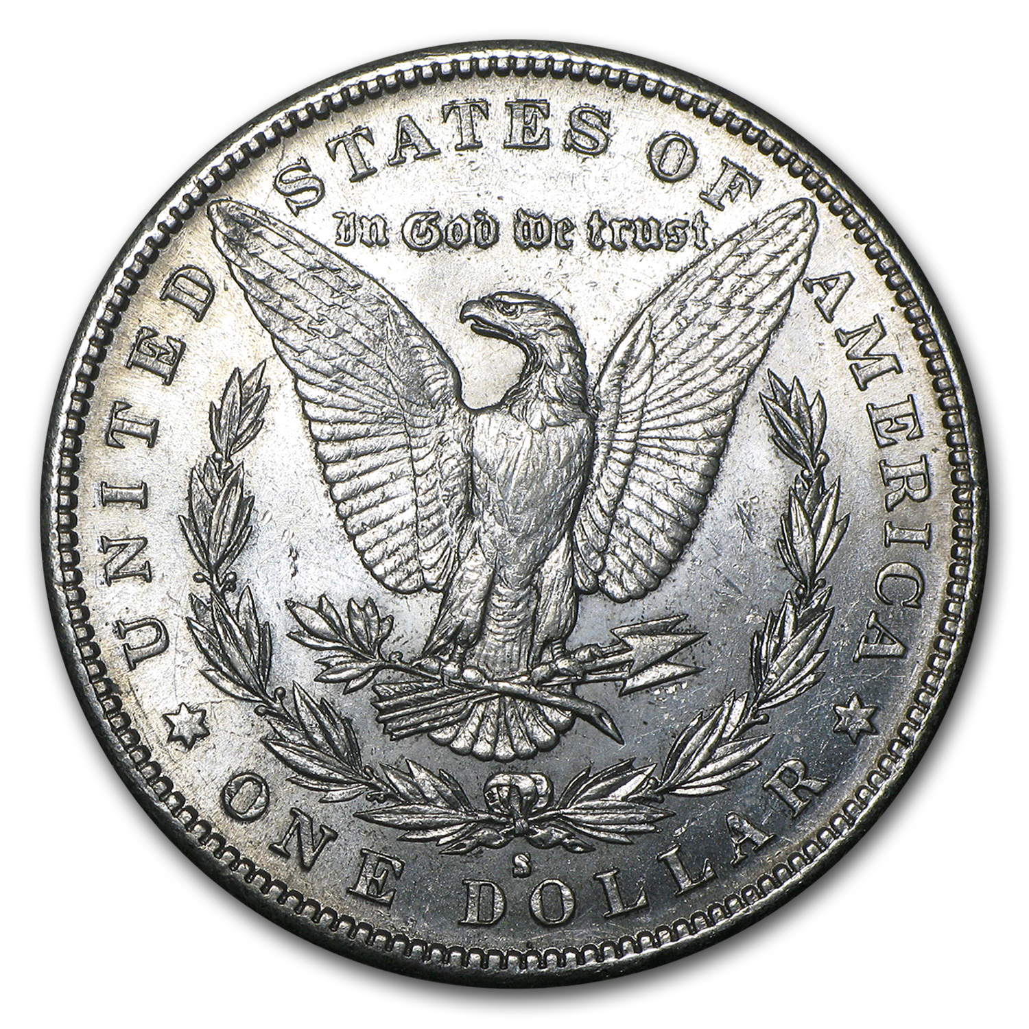 1889-S Morgan Dollar - Brilliant Uncirculated