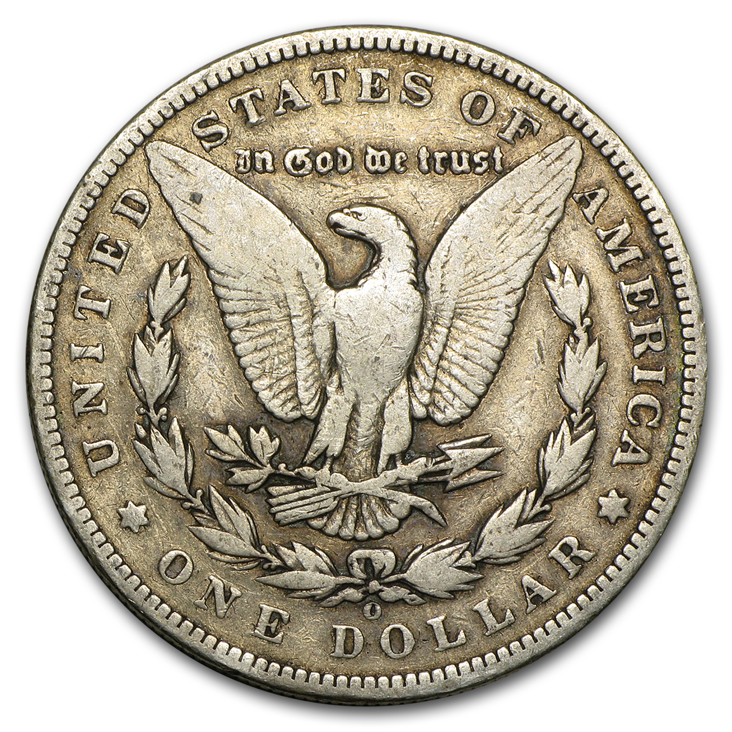 1893-O Morgan Dollar - Very Good