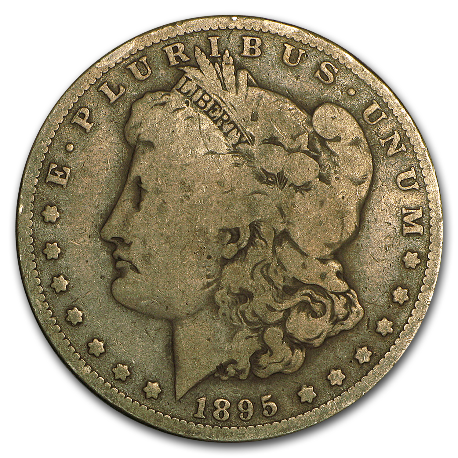 1895-O Morgan Dollar Good