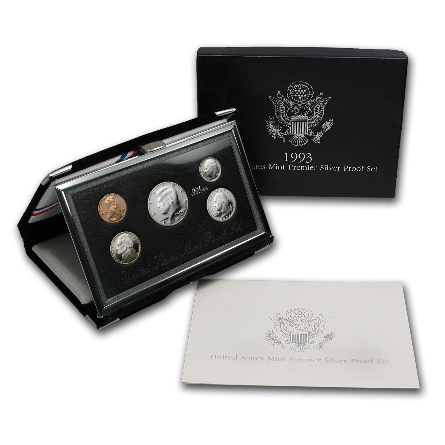 1993 Premier Silver Proof Set