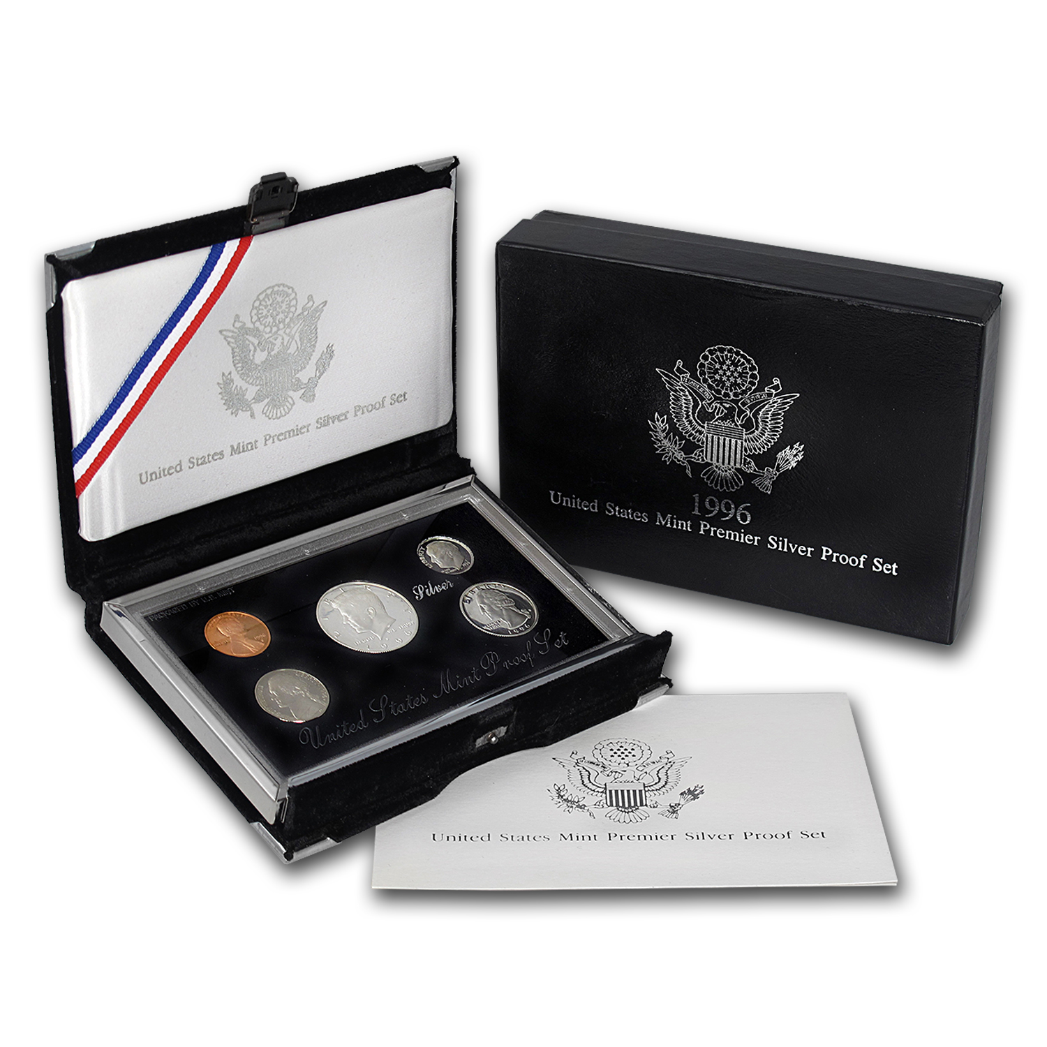 1996 Premier Silver Proof Set