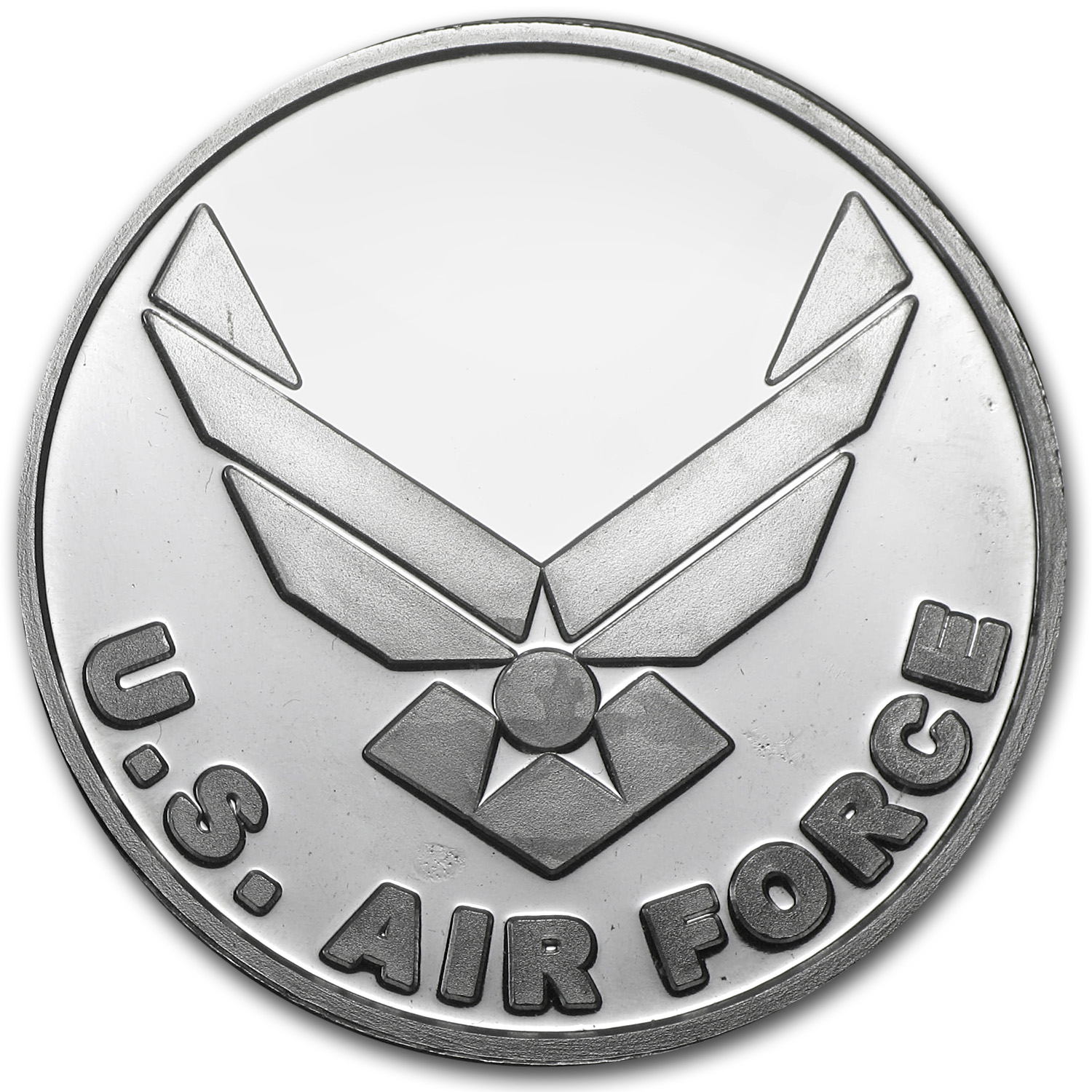 1 oz Silver Rounds - U.S. Air Force (w/Box & Capsule)