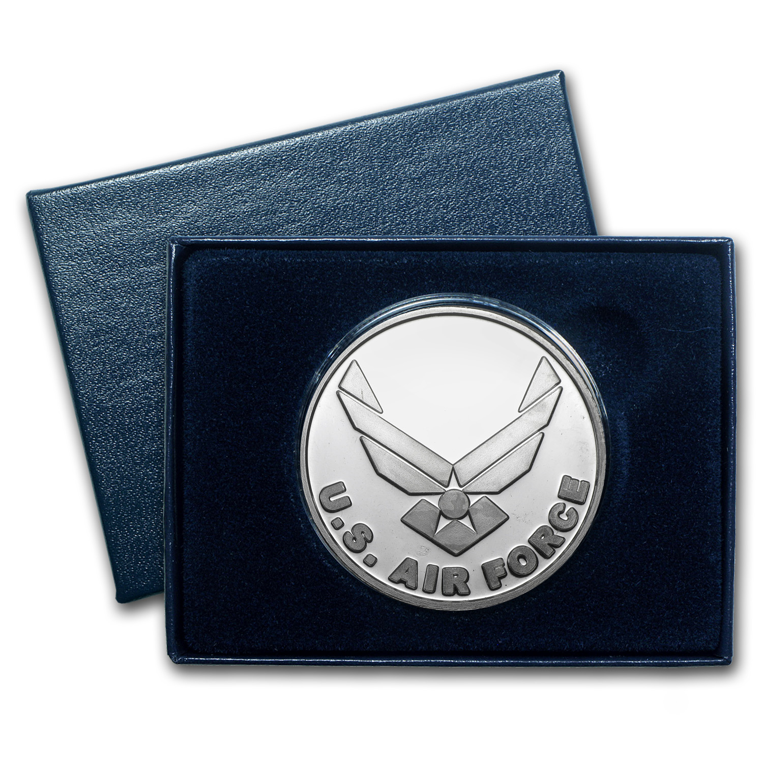 1 oz Silver Round - U.S. Air Force (w/Box & Capsule)
