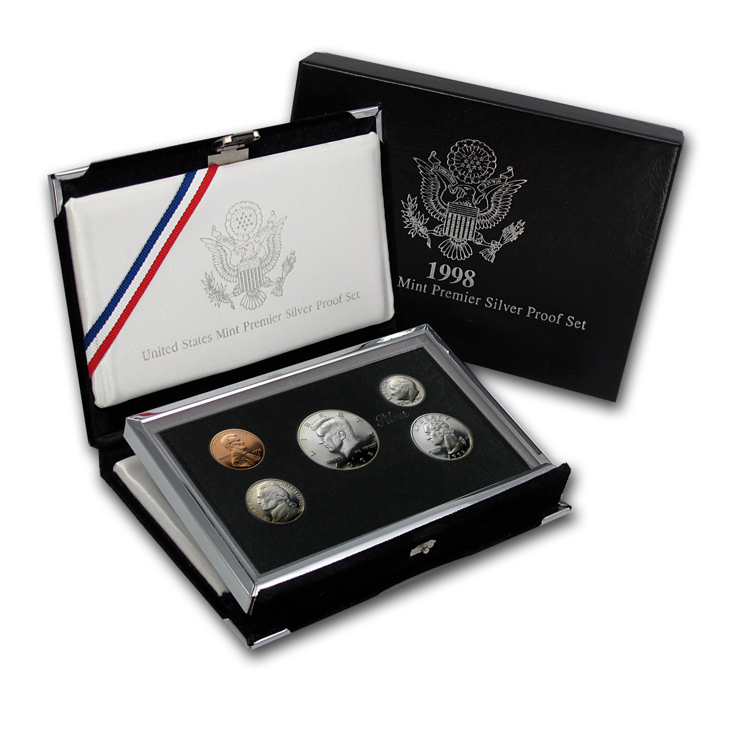 1998 Premier Silver Proof Set