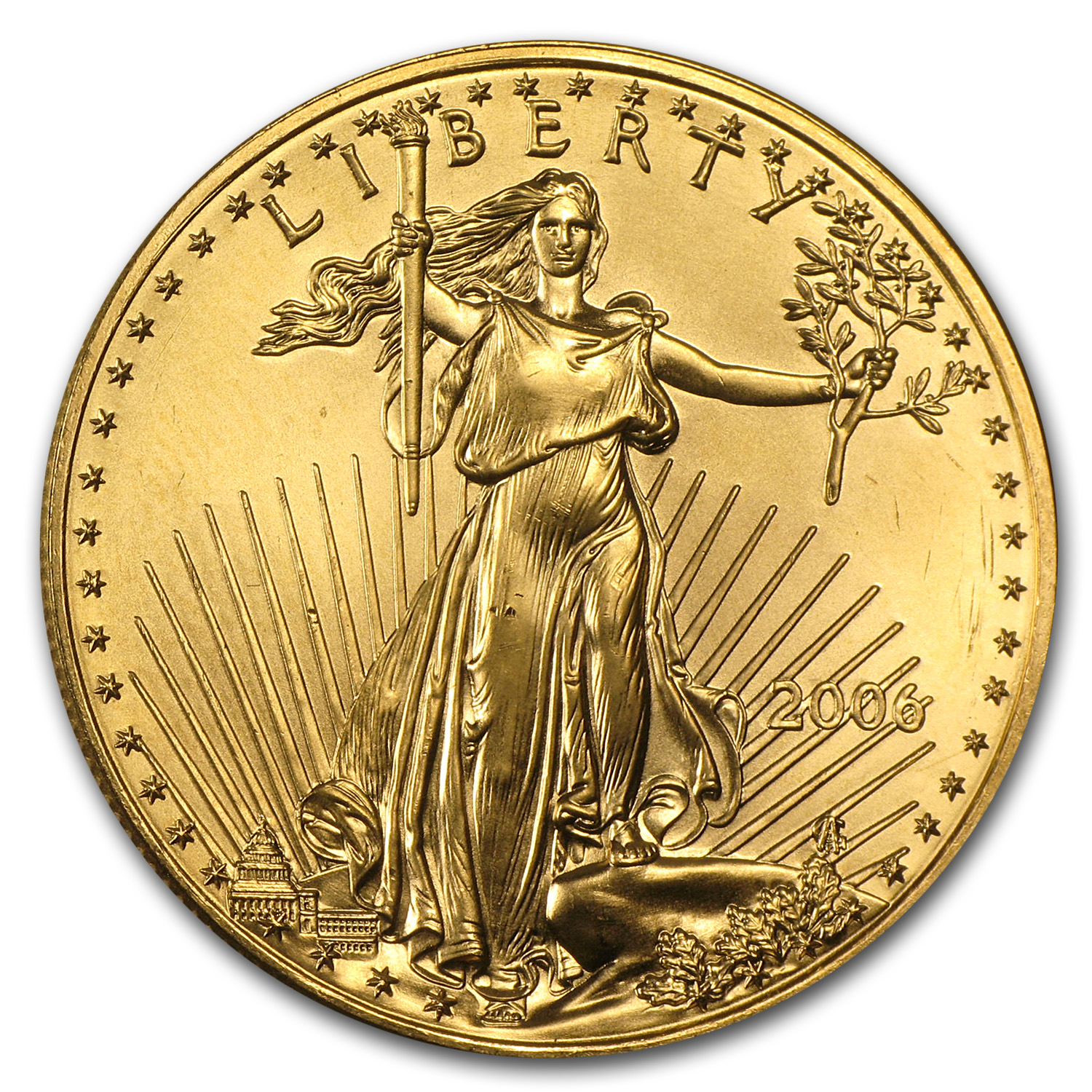2006 1 oz Gold American Eagle (BU)