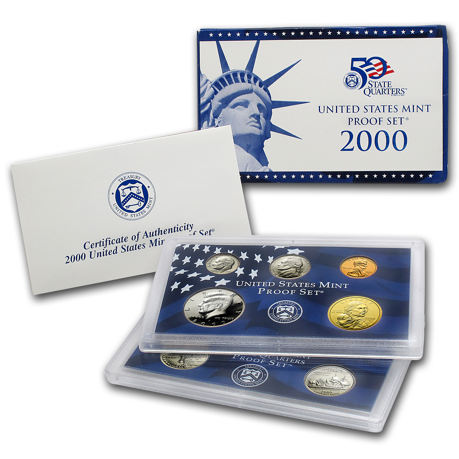 2000 U.S. Proof Set
