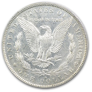 1882-O/S Morgan Dollar Weak AU-53 PCGS (VAM Top-100)