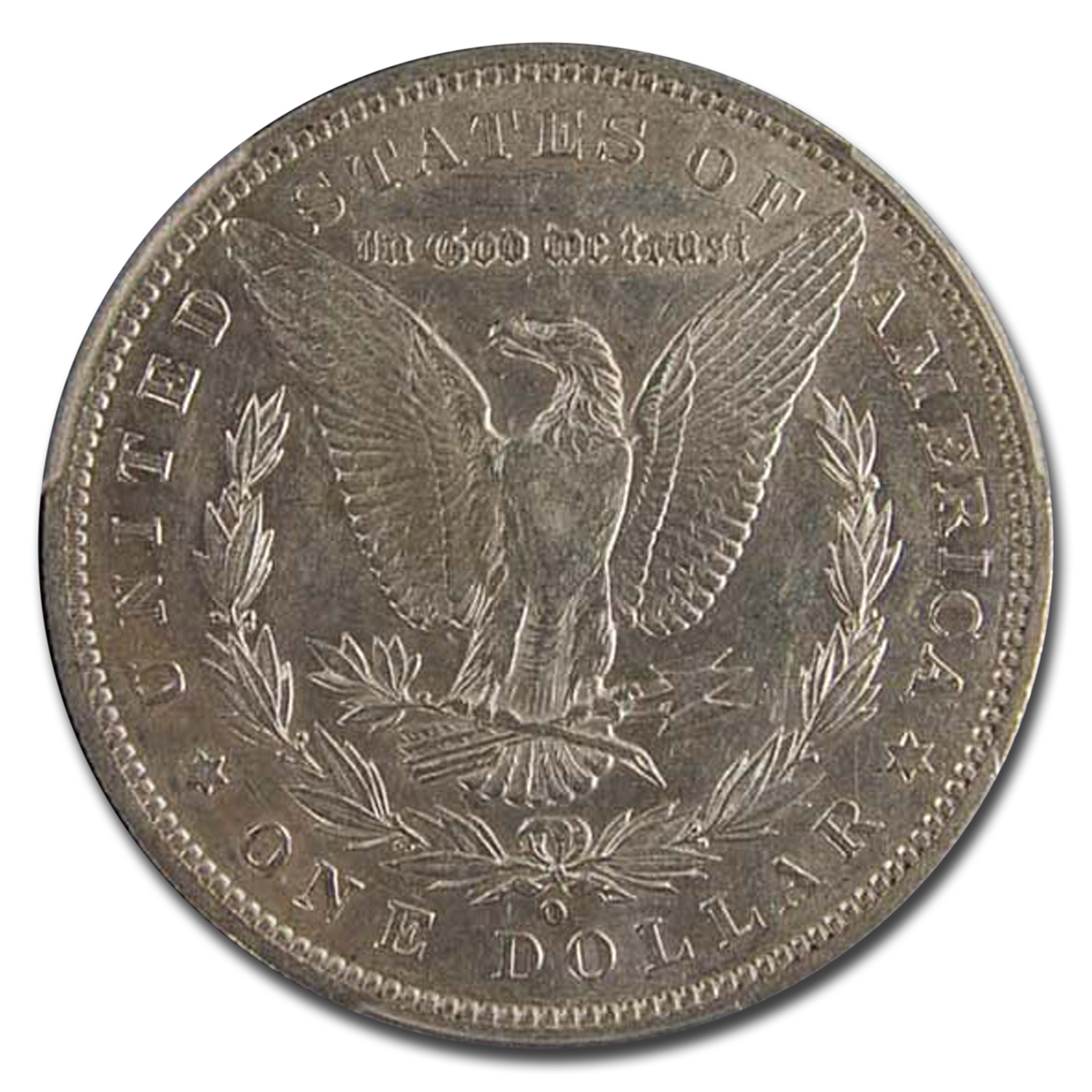 1886-O Morgan Dollar AU-50 PCGS