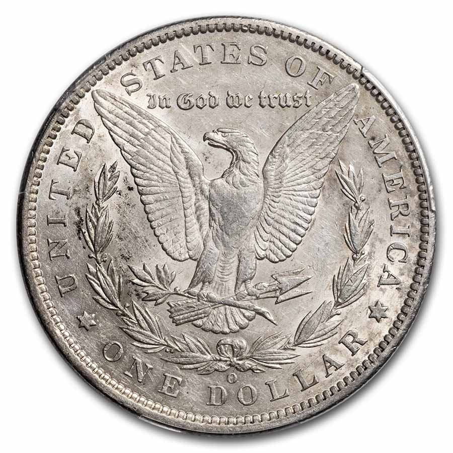 1886-O Morgan Dollar AU-53 PCGS