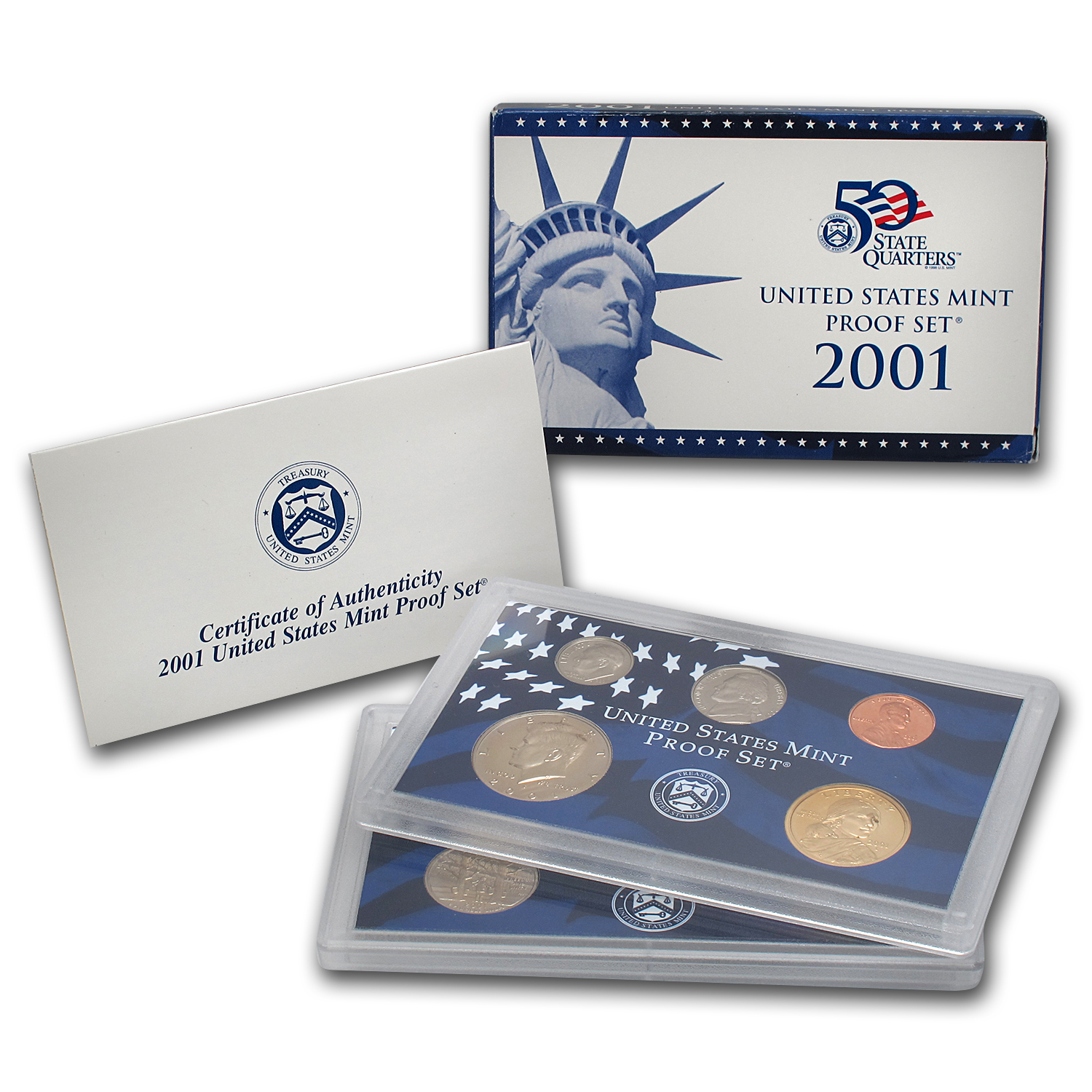 2001 U.S. Proof Set