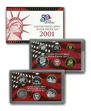 2001 U.S. Proof Set (Silver)