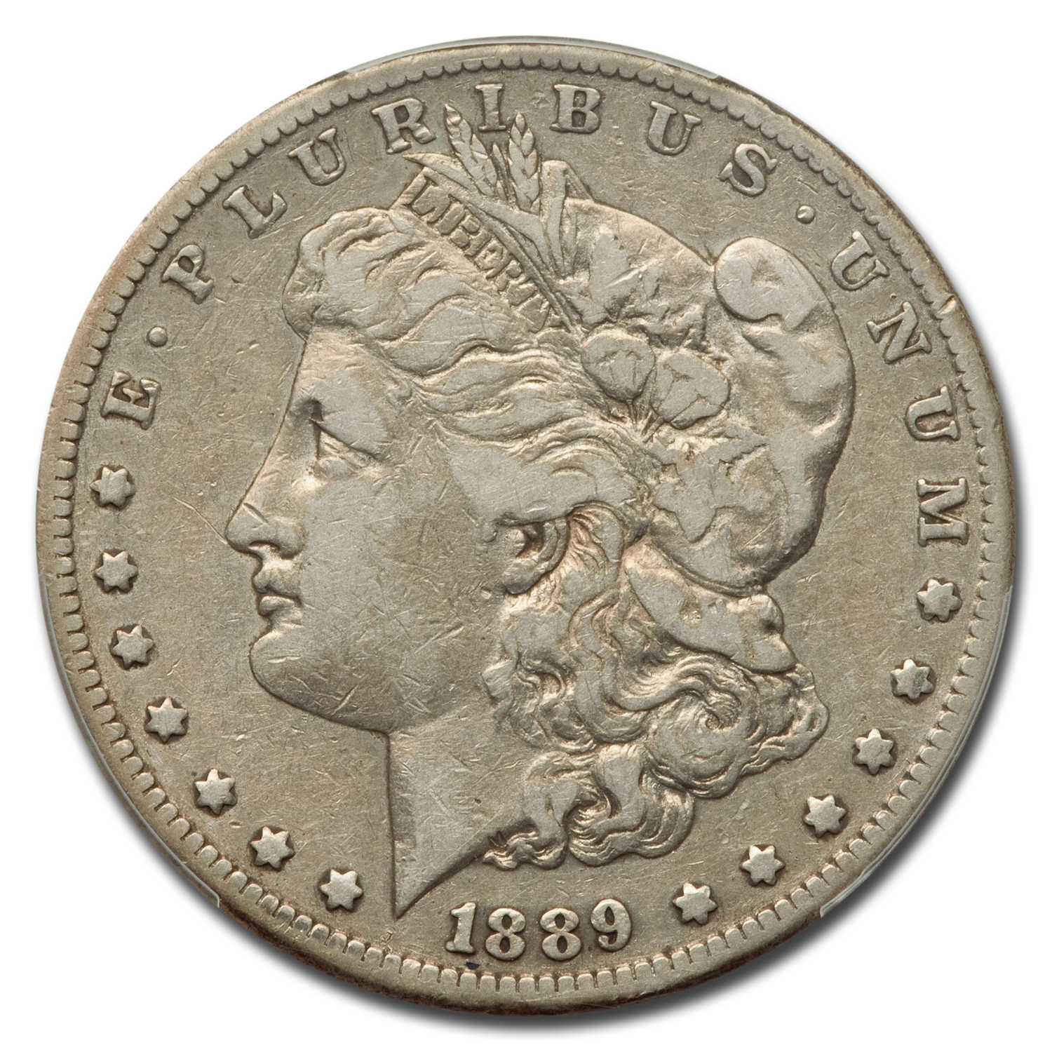 1889-CC Morgan Dollar VF-20 PCGS (Semi Key)