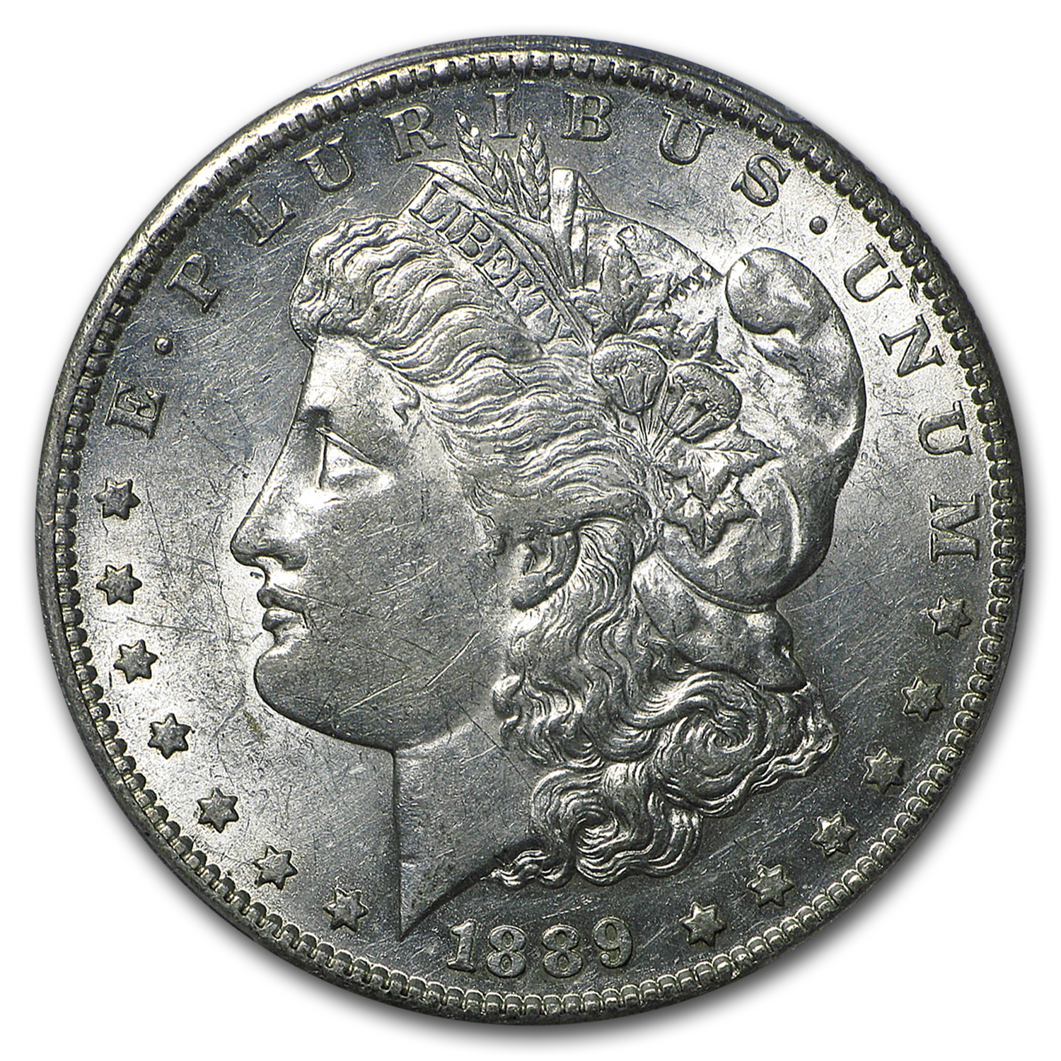 1889-S Morgan Dollar AU-58 PCGS