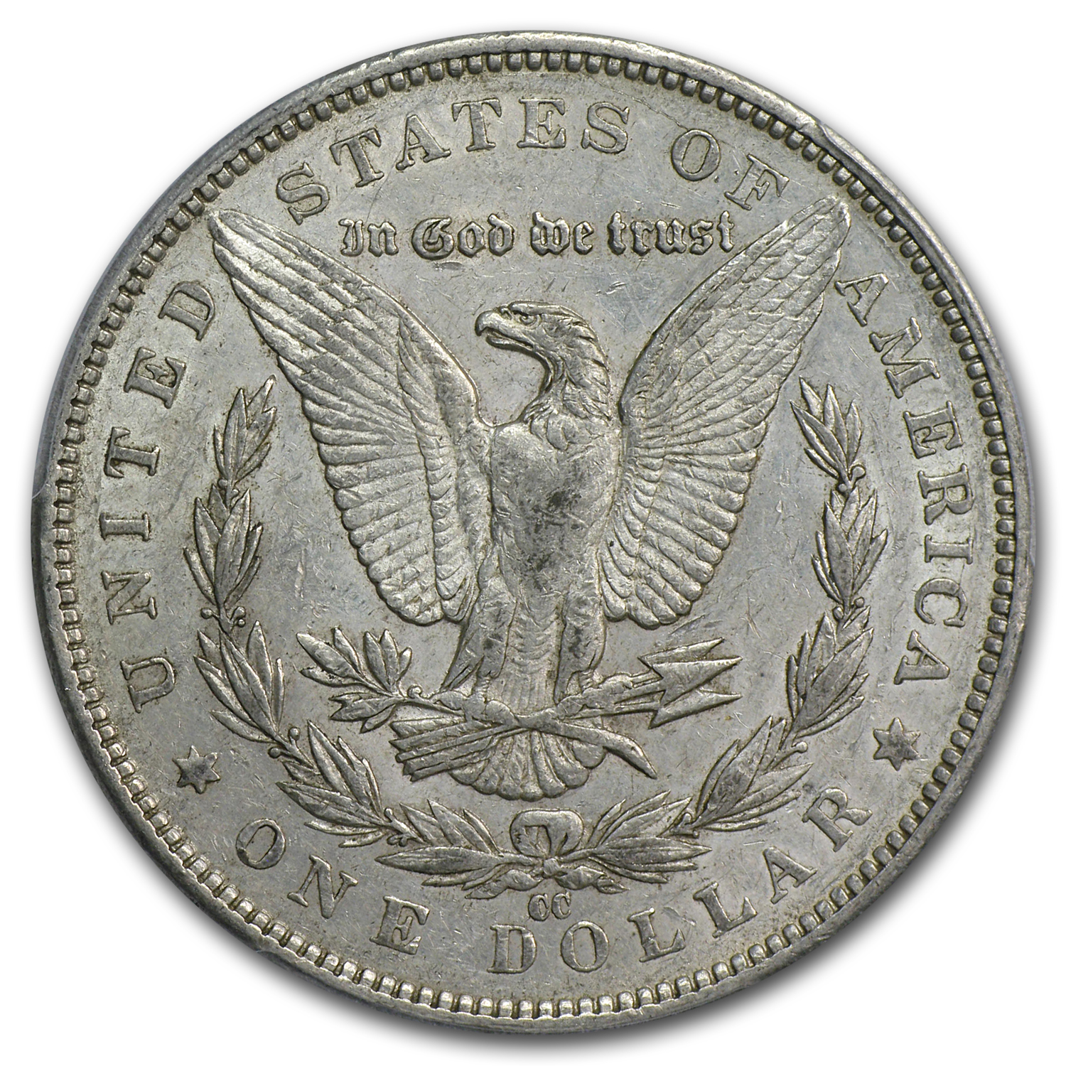 1891-CC Morgan Dollar Almost Uncirculated-50 PCGS