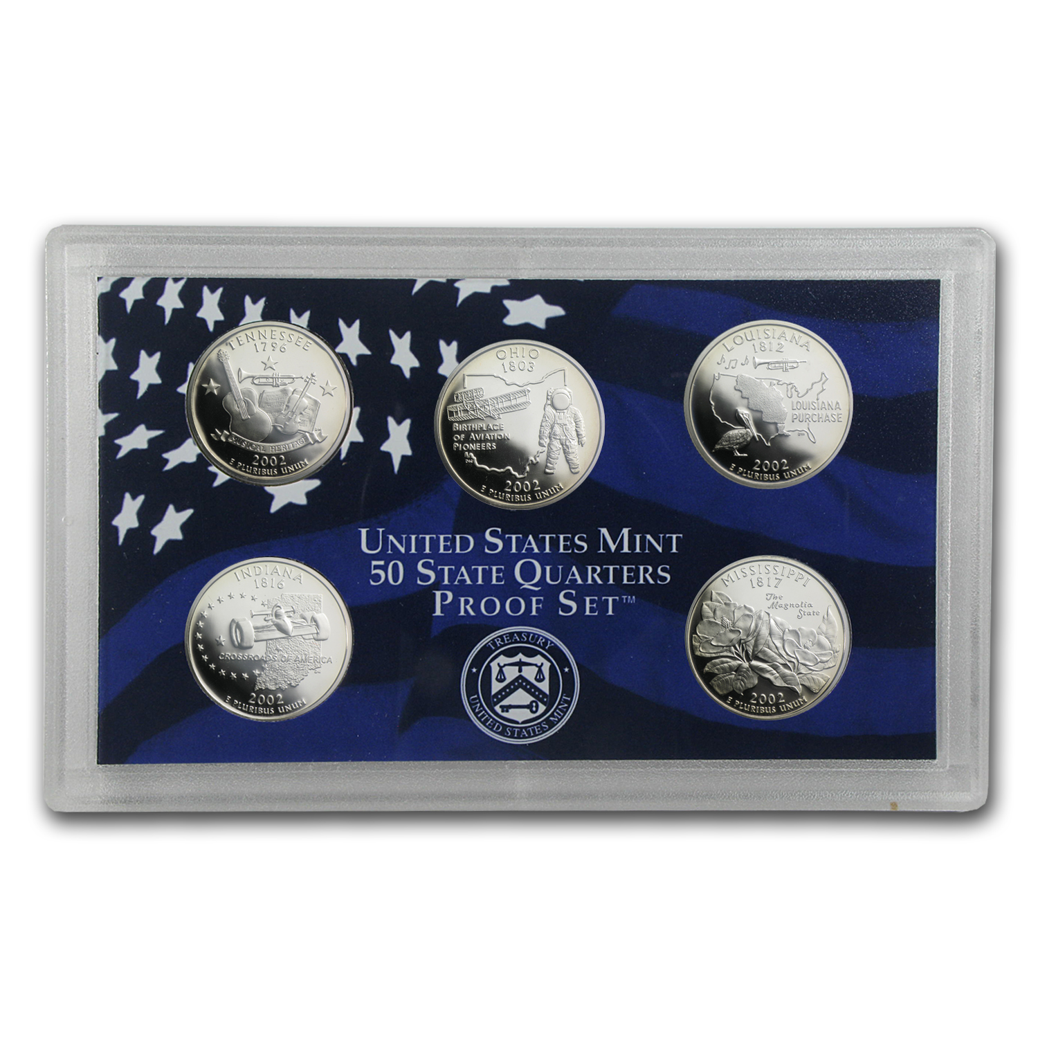 2002 U.S. Proof Set