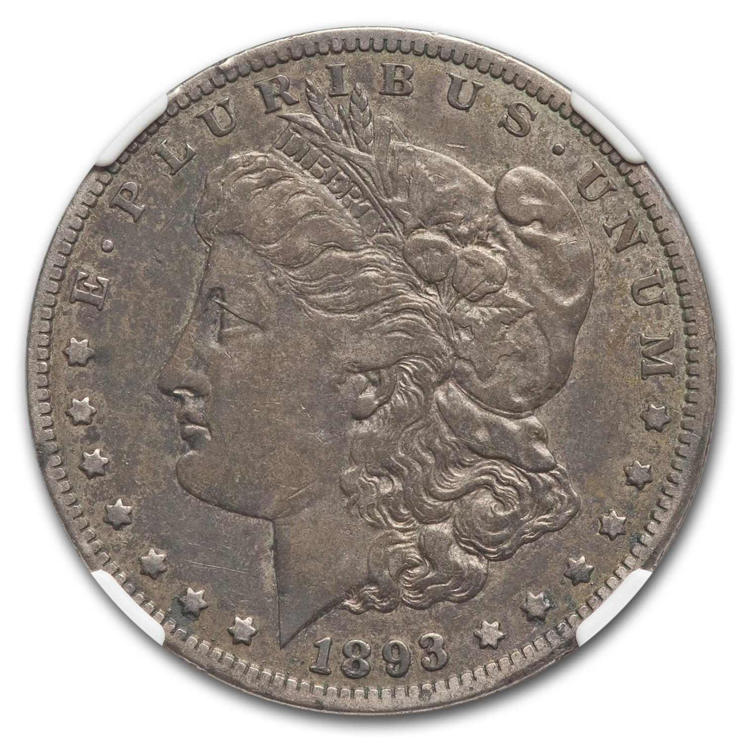 1893-CC Morgan Dollar Very Fine-30 NGC