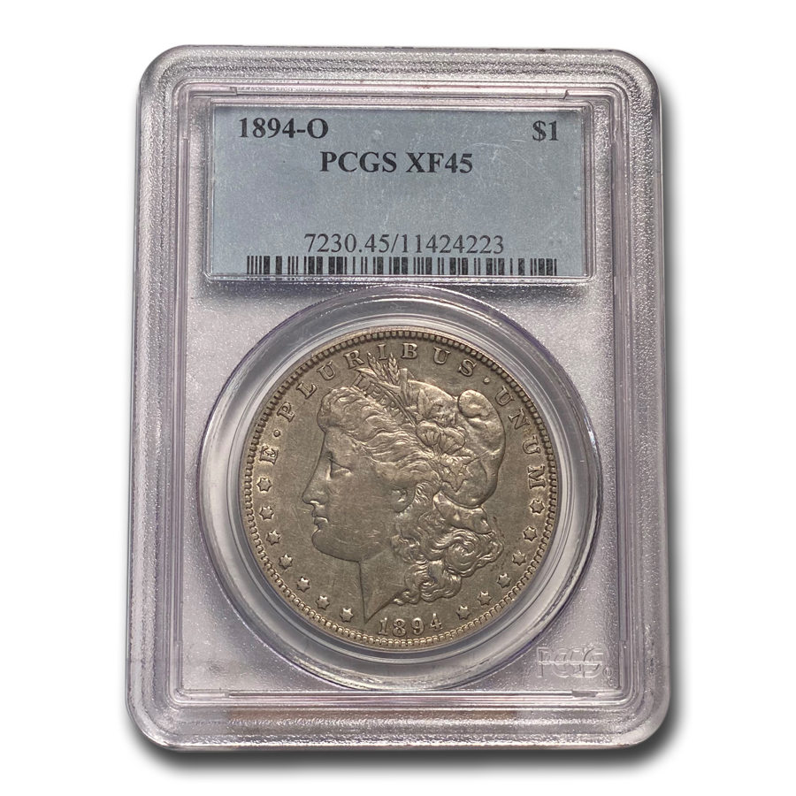 1894-O Morgan Dollar XF-45 PCGS