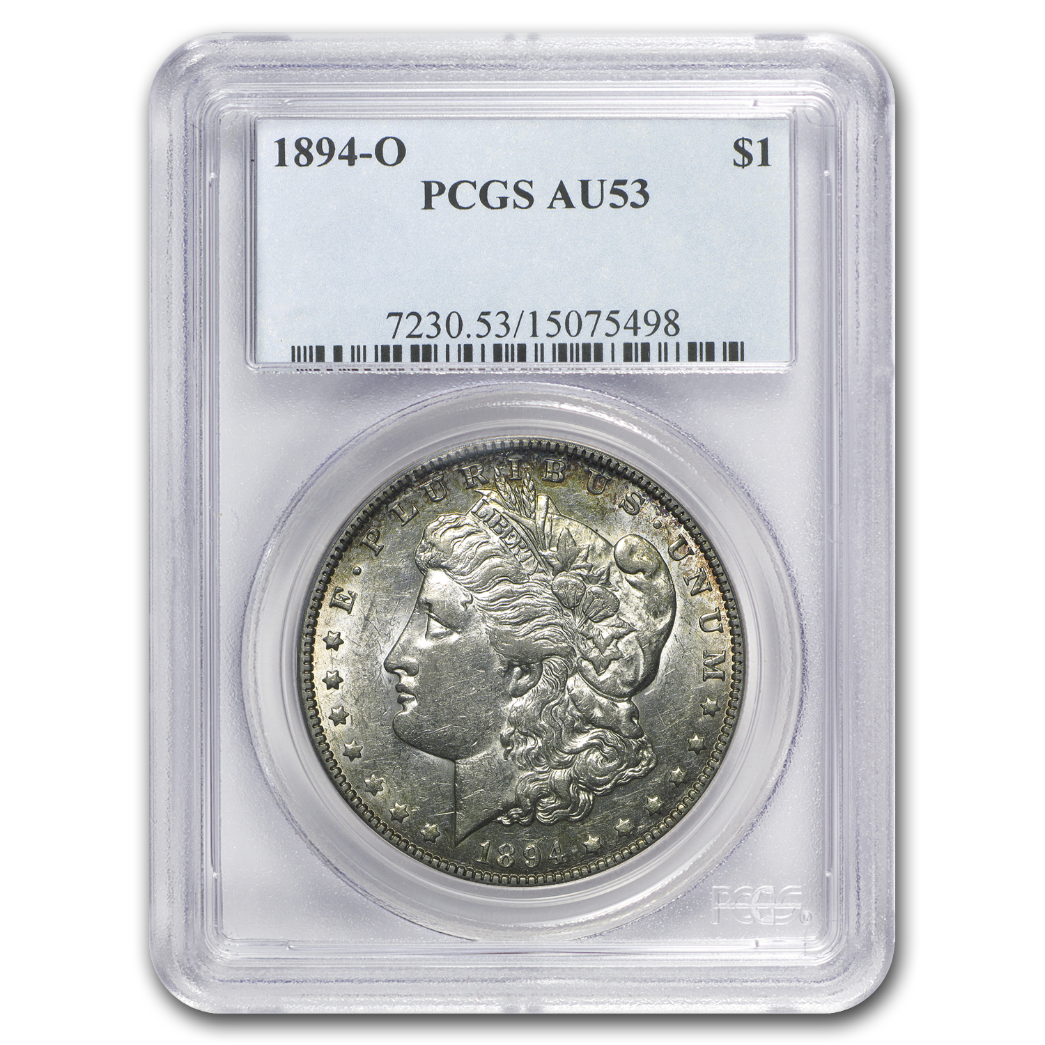 1894-O Morgan Dollar AU-53 PCGS