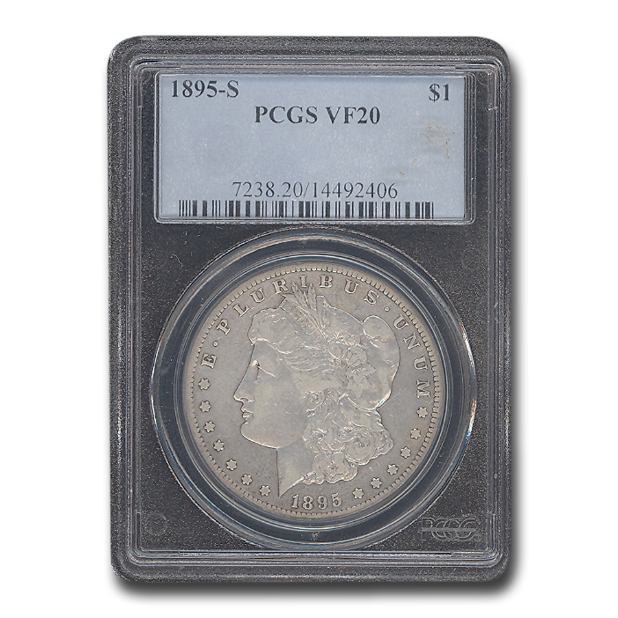 1895-S Morgan Dollar VF-20 PCGS