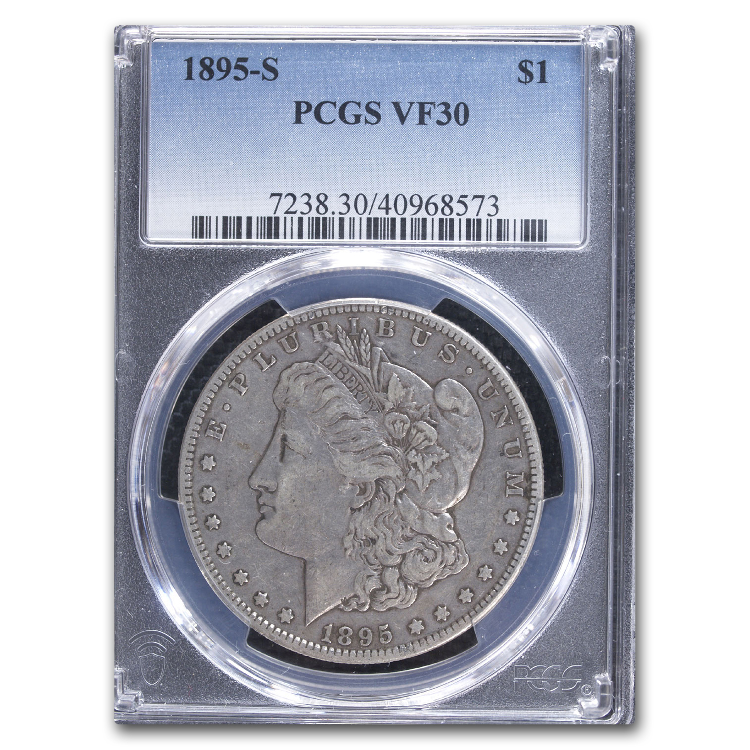 1895-S Morgan Dollar VF-30 PCGS