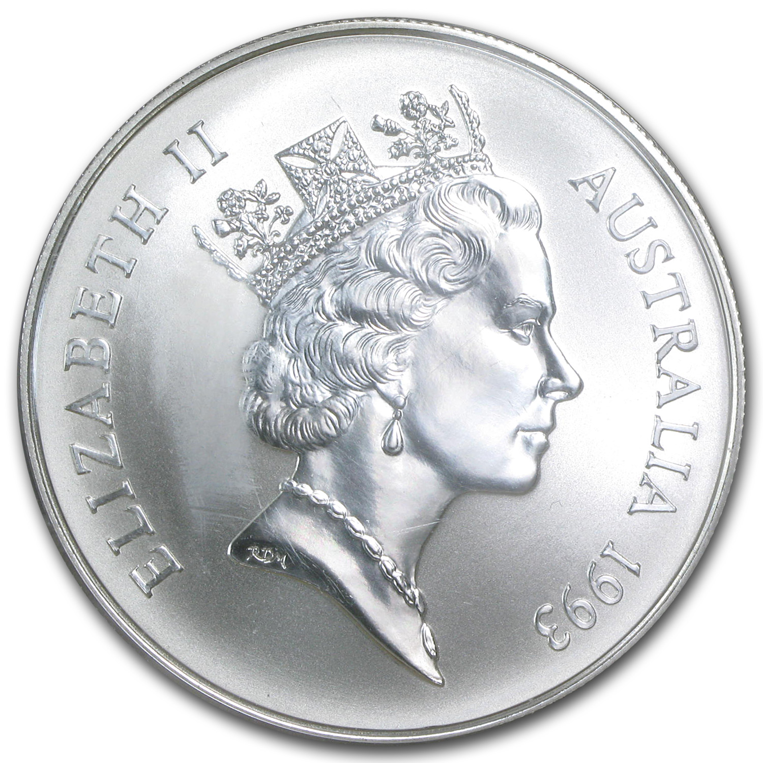 1993 Australia 1 oz Silver Kangaroo (In Display Card)