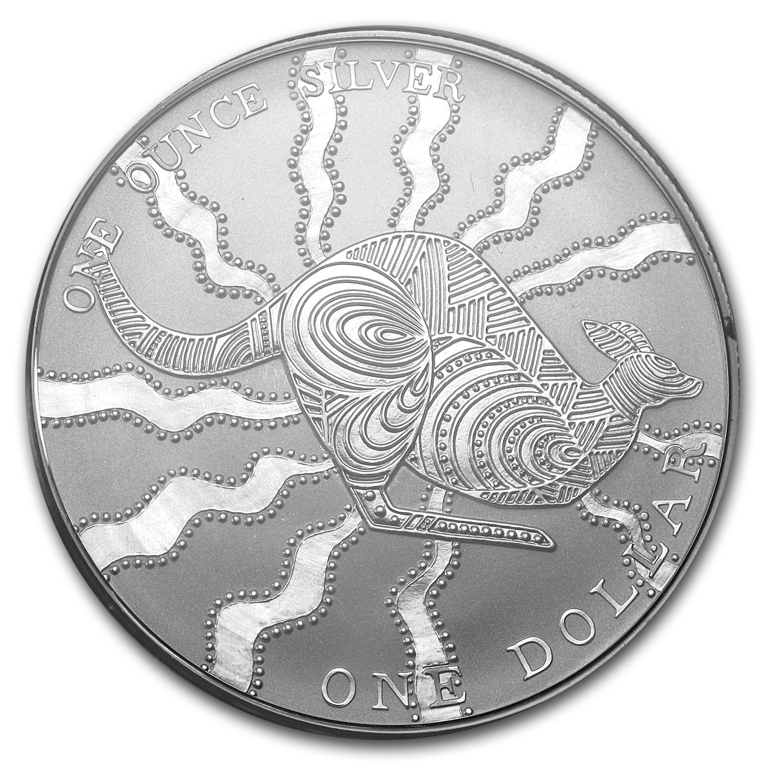 2002 1 oz Australian Silver Kangaroo (In Display Card)