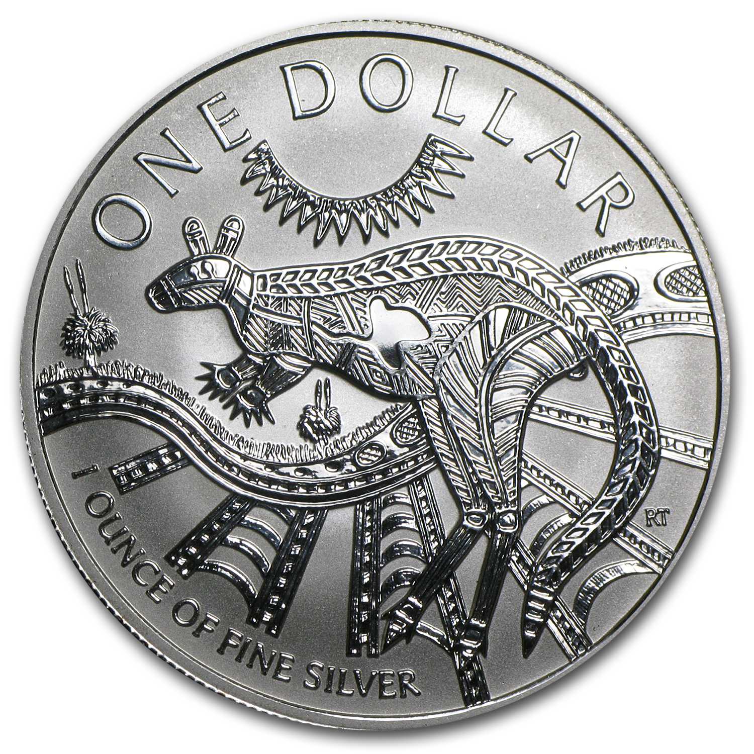 2003 Australia 1 oz Silver Kangaroo (In Display Card)