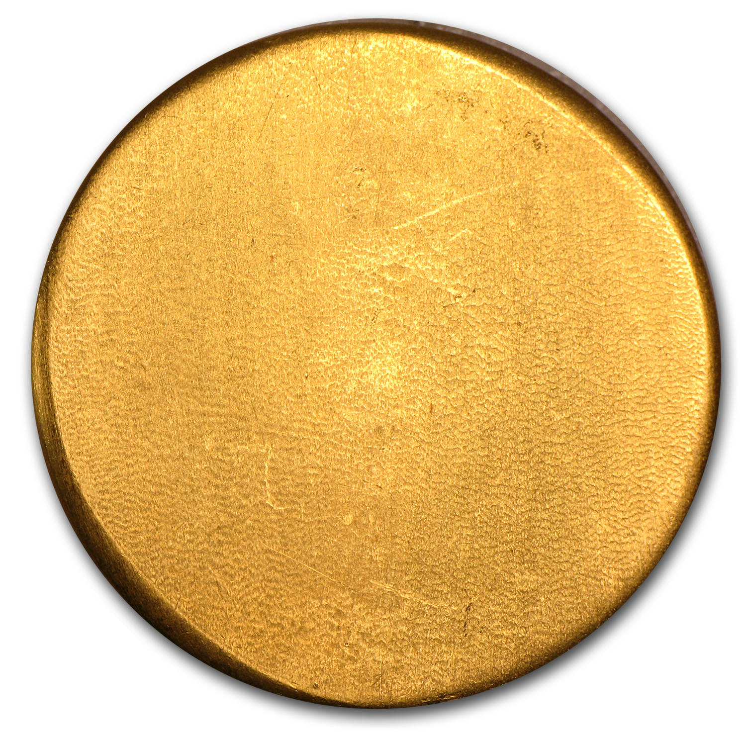 1 oz Gold Round - Hoover & Strong Gold Button