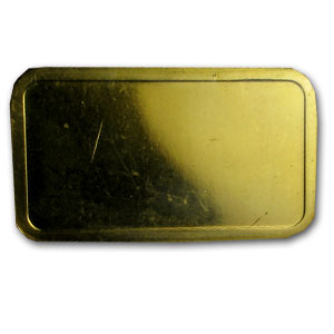 100 gram Gold Bar - Degussa (Pressed)