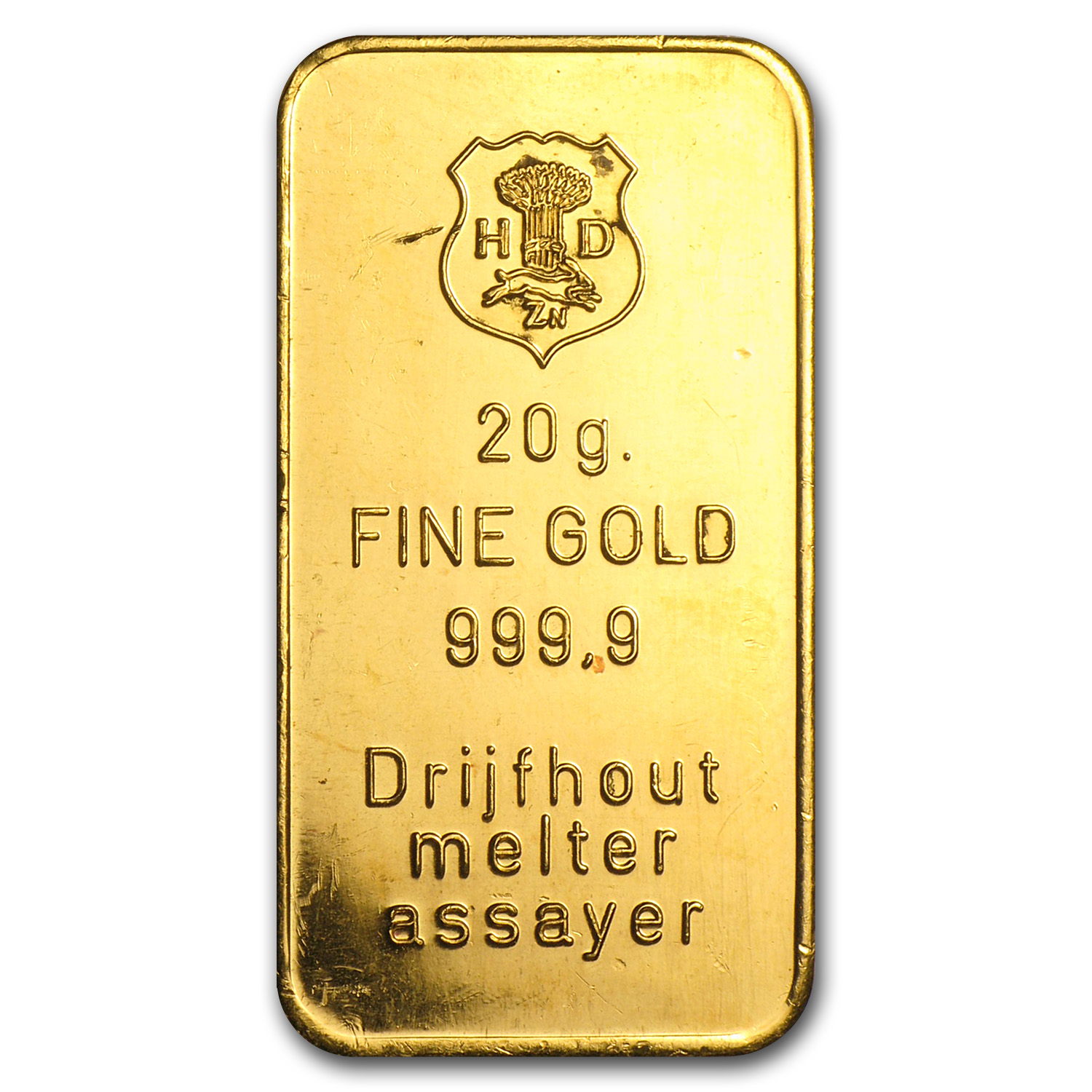 20 gram Gold Bar - Secondary Market