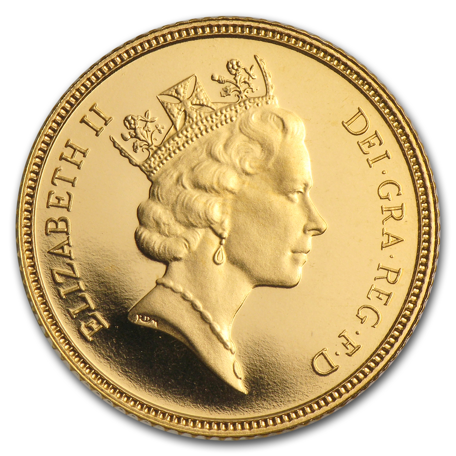 1980-Date Great Britain Gold 1/2 Sovereign Proof