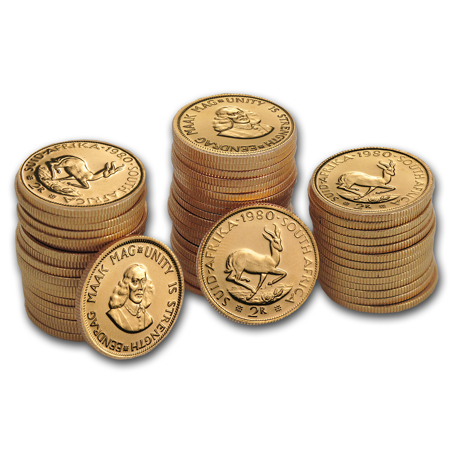South African Gold 2 Rands (AU)