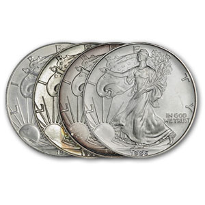 1986 Silver American Eagles (Problem Coins)