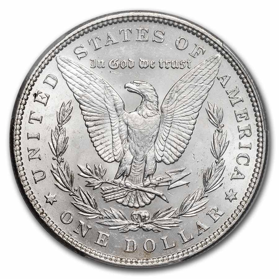 1883 Brilliant Uncirculated PCGS Stage Coach Silver Dollars