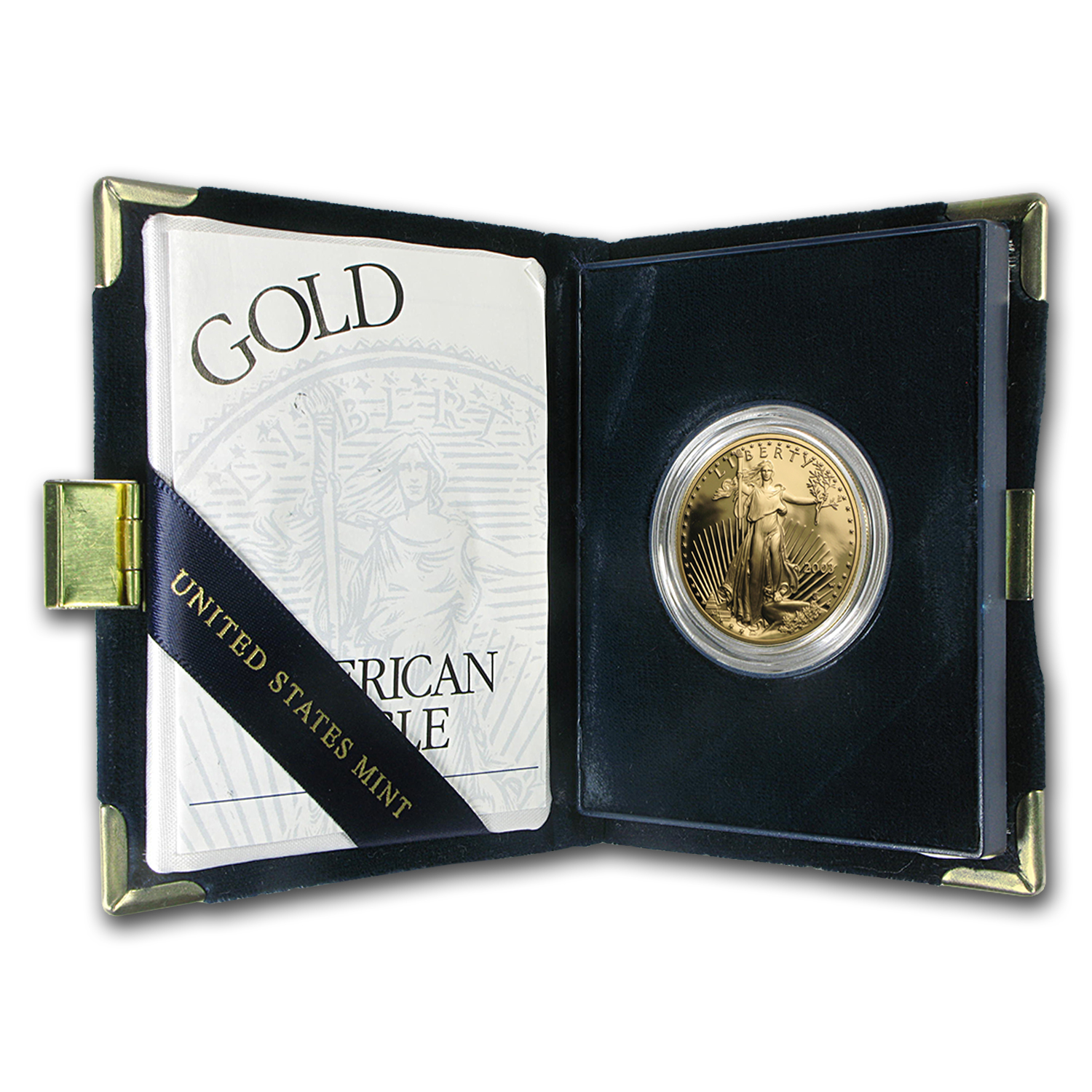 2003-W 1 oz Proof Gold American Eagle (w/Box & COA)