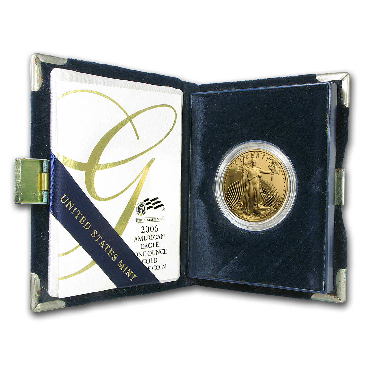 2006-W 1 oz Proof Gold American Eagle (w/Box & COA)