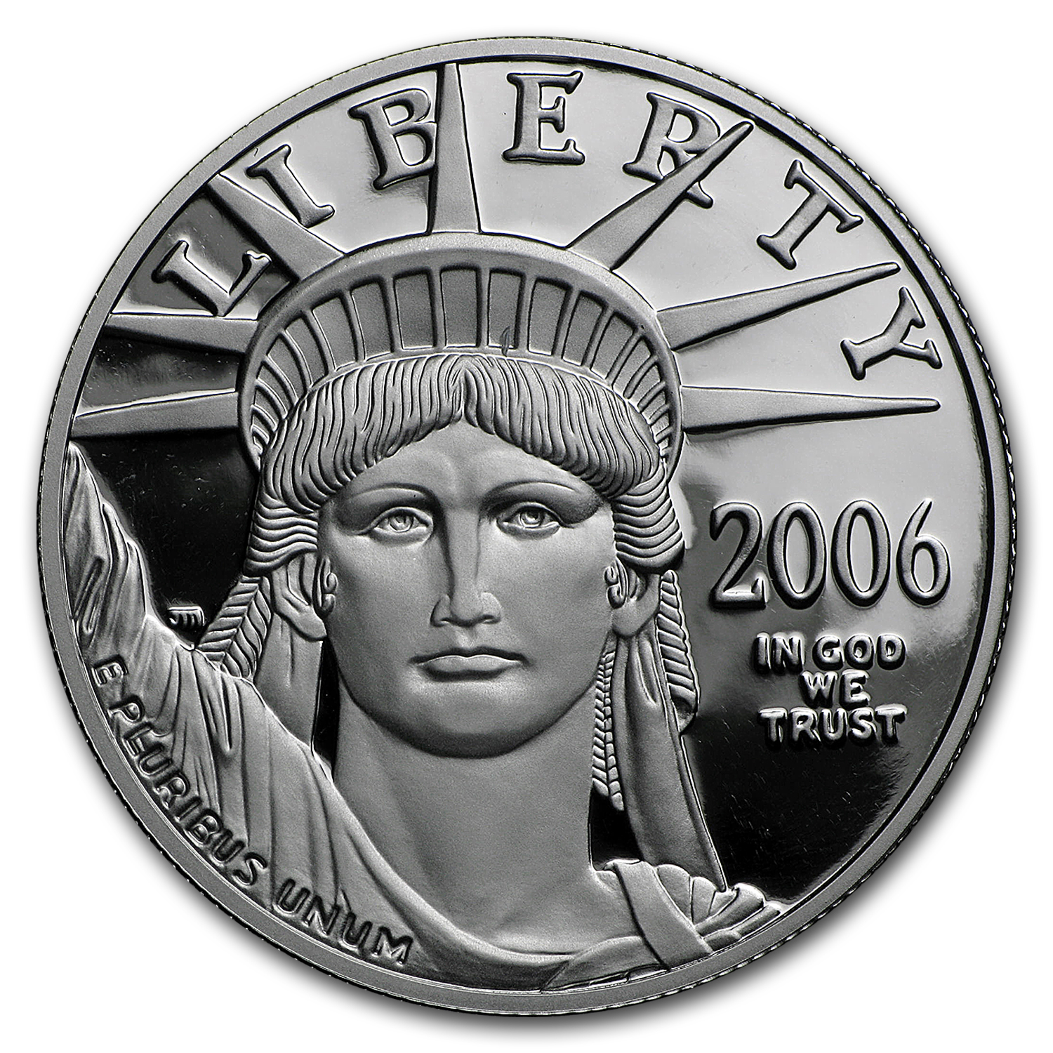 2006-W 1 oz Proof Platinum American Eagle (w/Box & COA)