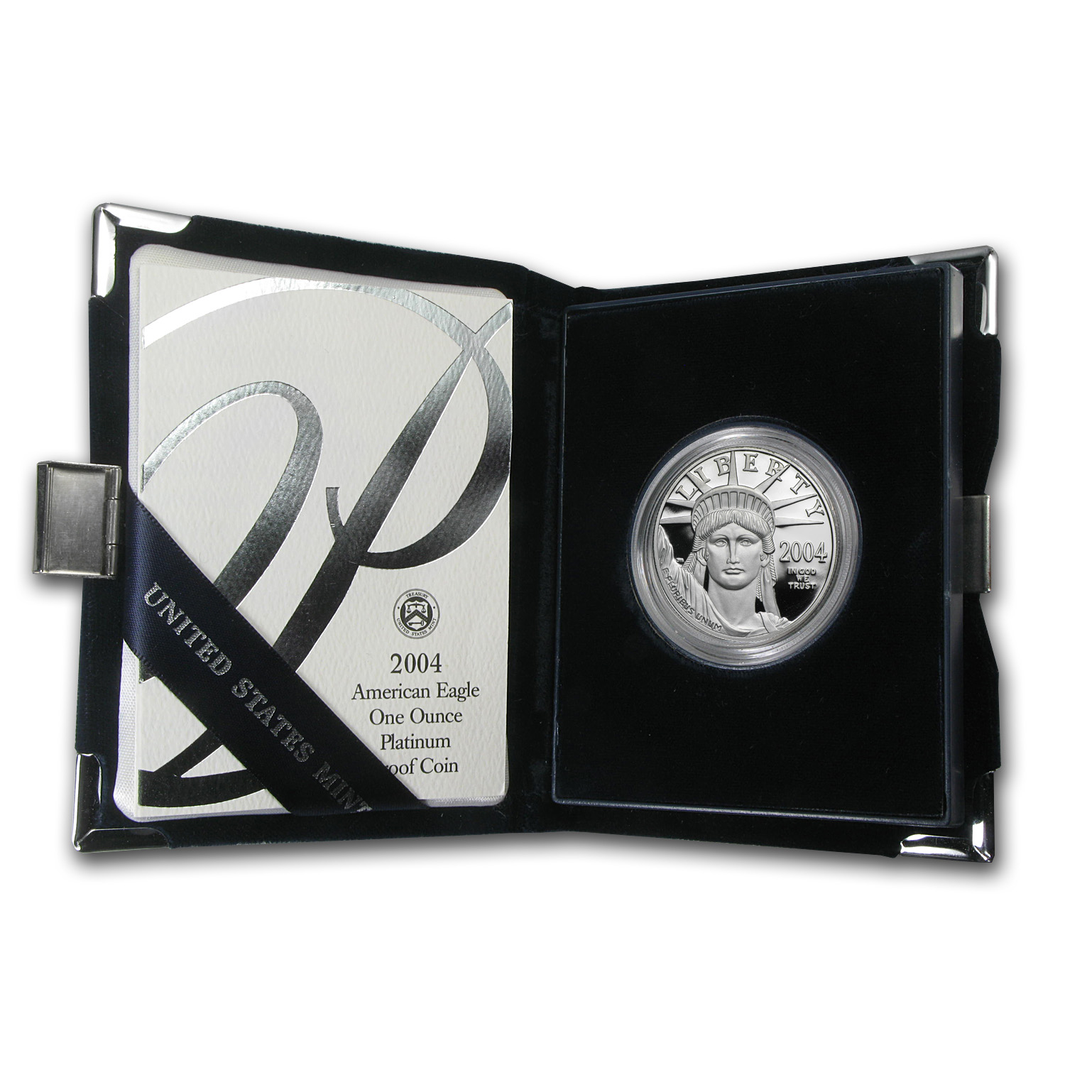 2004-W 1 oz Proof Platinum American Eagle (w/Box & CoA)