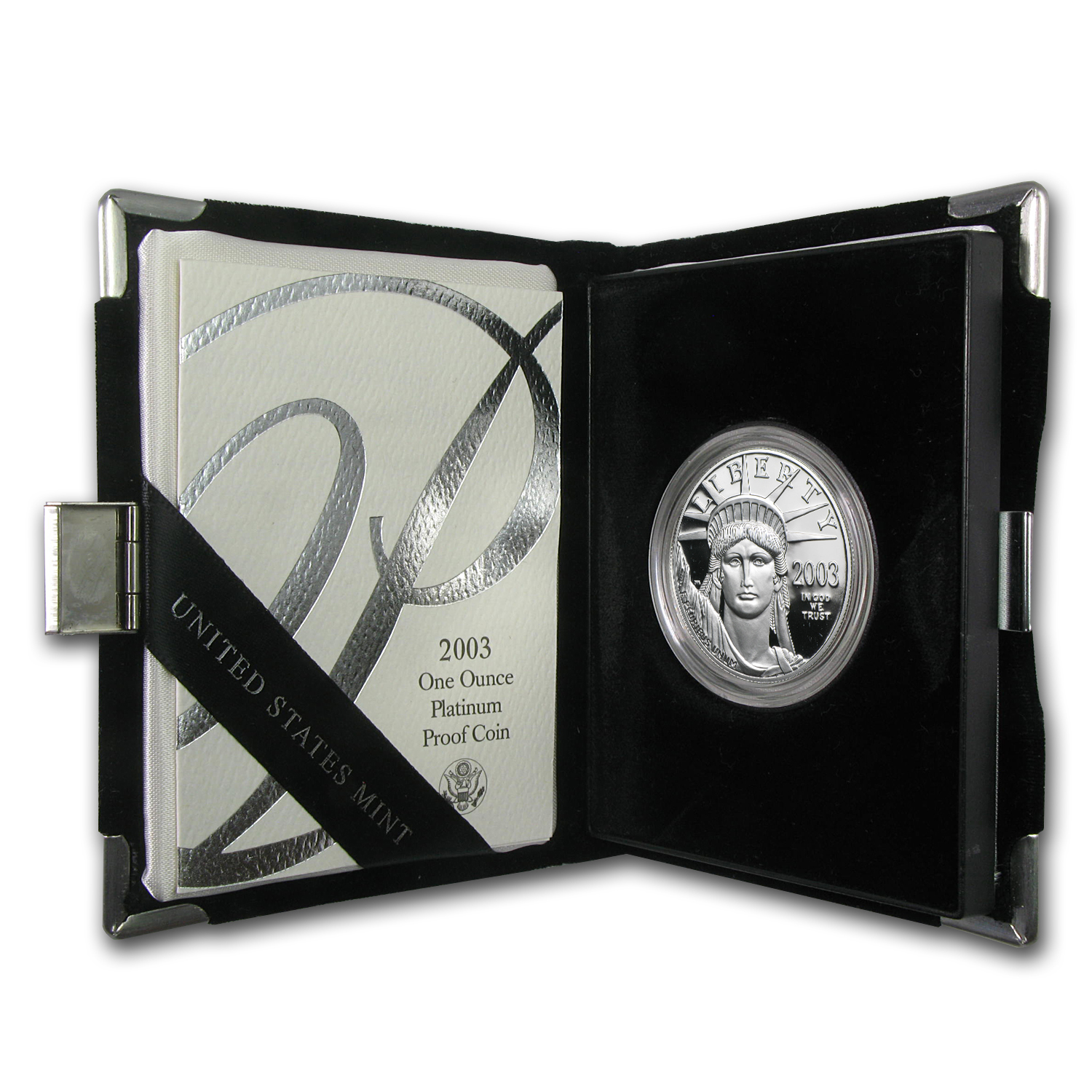 2003-W 1 oz Proof Platinum American Eagle (w/Box & COA)