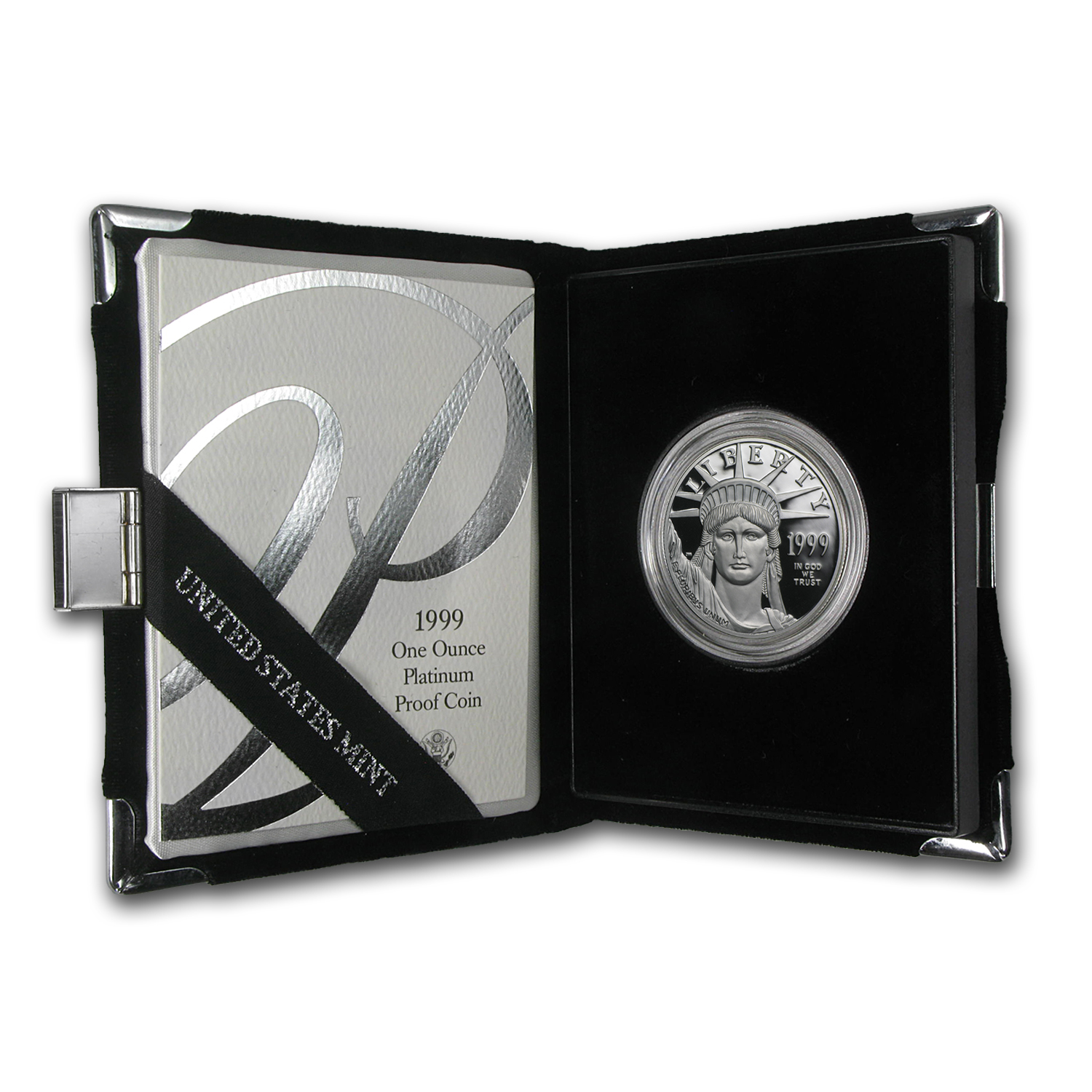 1999-W 1 oz Proof Platinum American Eagle (w/Box & COA)